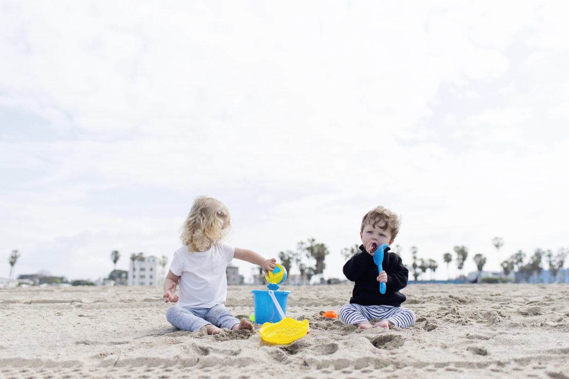 Los Angeles family travel with baby & toddler