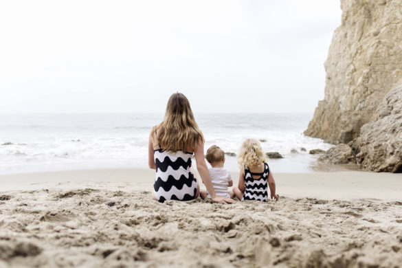 Marimekko for Target matching swimsuits for mother & daughter