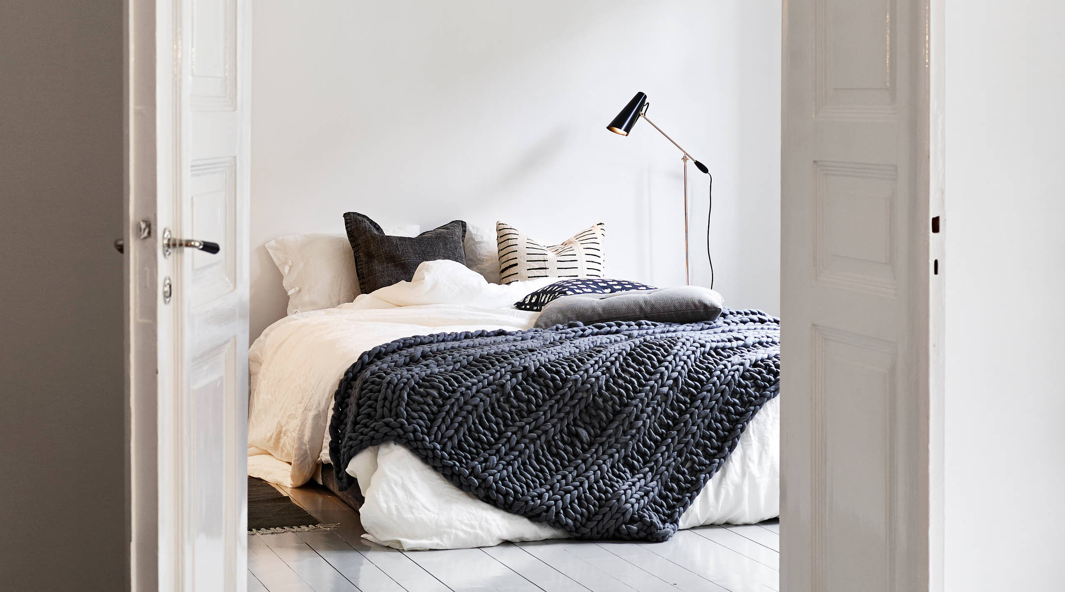 Friday Favorites Bedroom Inspiration Happy Grey Lucky