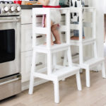 Ikea Hack: Toddler Learning Tower Stool