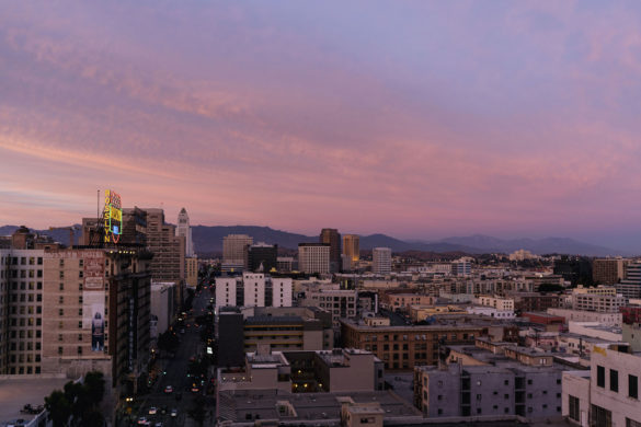 Los Angeles Downtown DTLA Sunset | Sisters Trip to California | Happy Grey Lucky