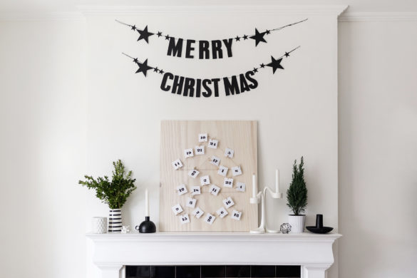 DIY Scandinavian-Inspired Advent Calendar | Happy Grey Lucky