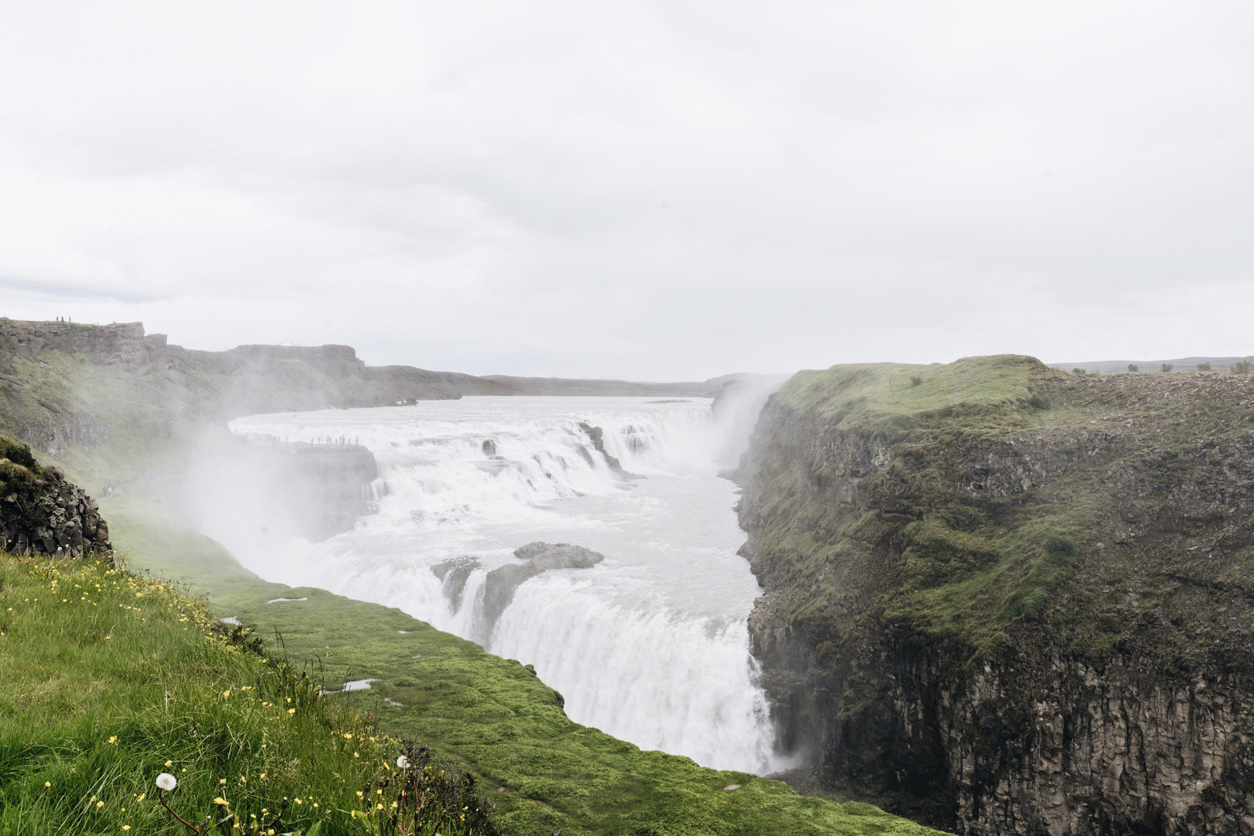 Gullfoss Waterfall, Iceland Golden Circle self drive with young kids - family travel with baby & toddler | Happy Grey Lucky