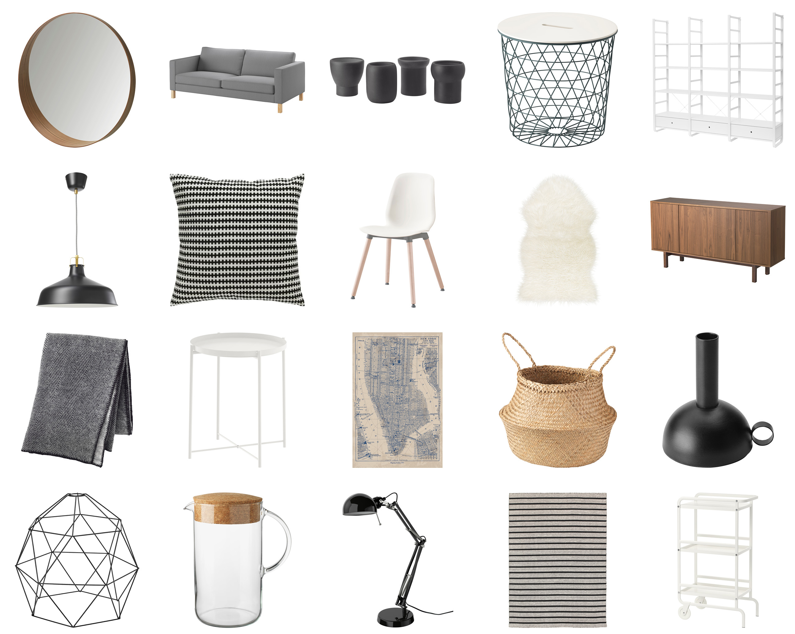 Merveilleux Best IKEA Pieces To Achieve A Scandinavian Look | Happy Grey Lucky