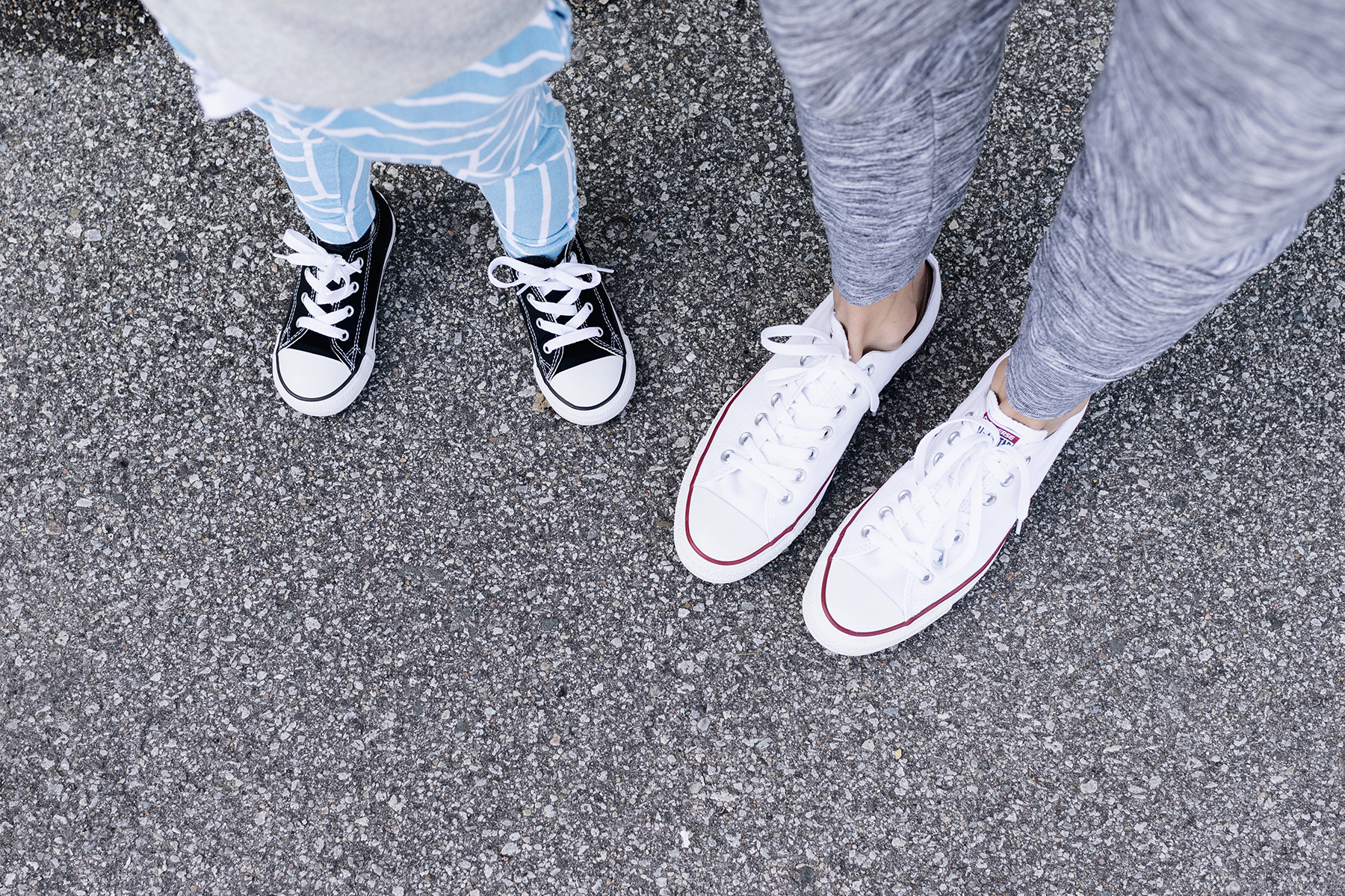 Matching converse shoes for mom + toddler girl | Happy Grey Lucky