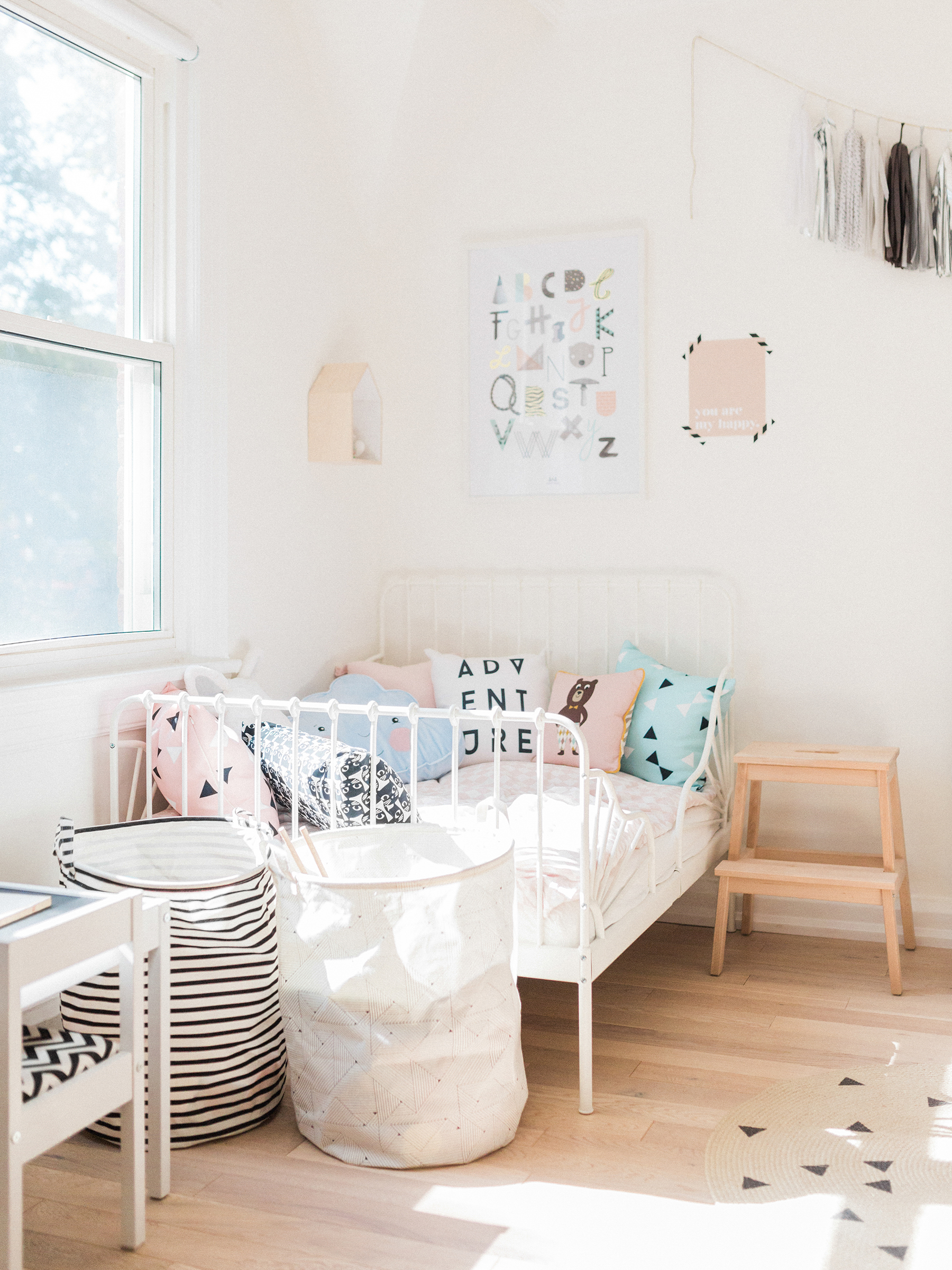 Scandinavian Shared Kids Room