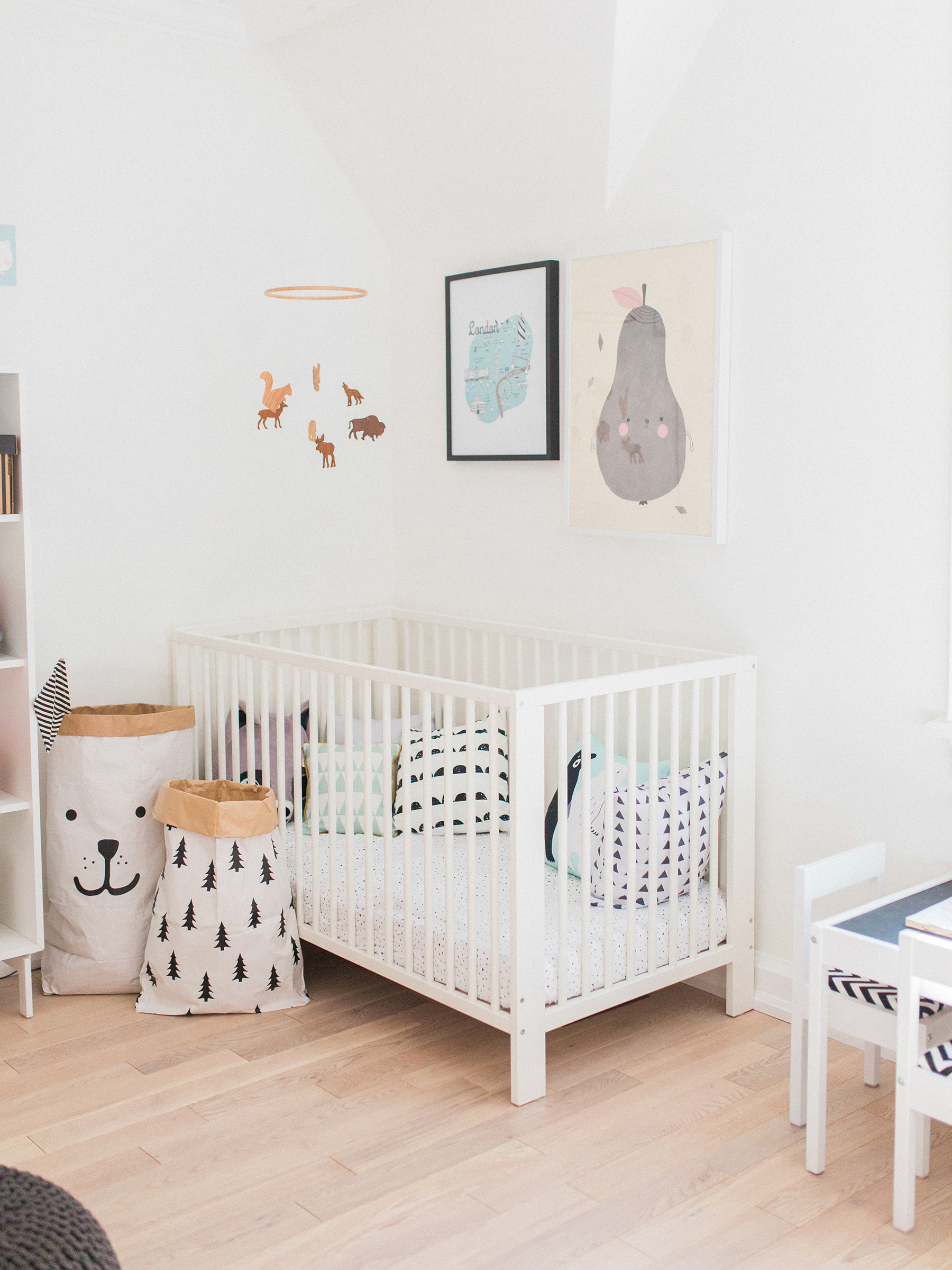 Amelia S Room Toddler Bedroom: A Modern, Pastel Shared Baby And Toddler Room