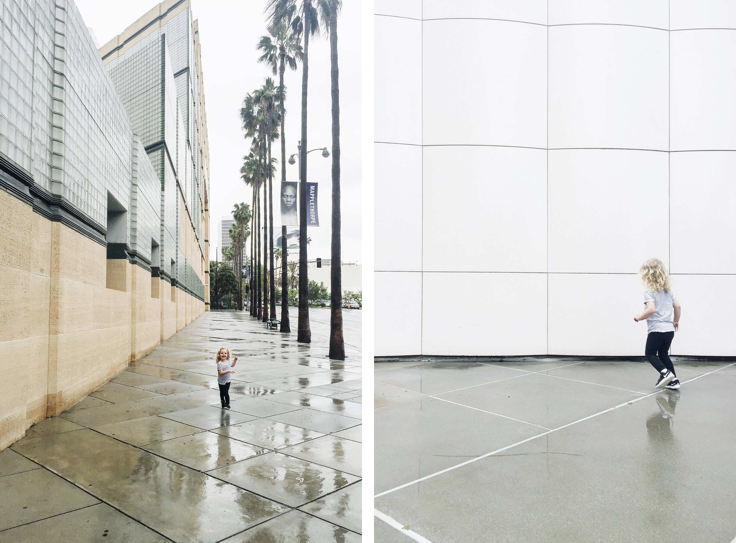 MOMA Museum of Modern Art, Los Angeles family travel with baby & toddler | Happy Grey Lucky