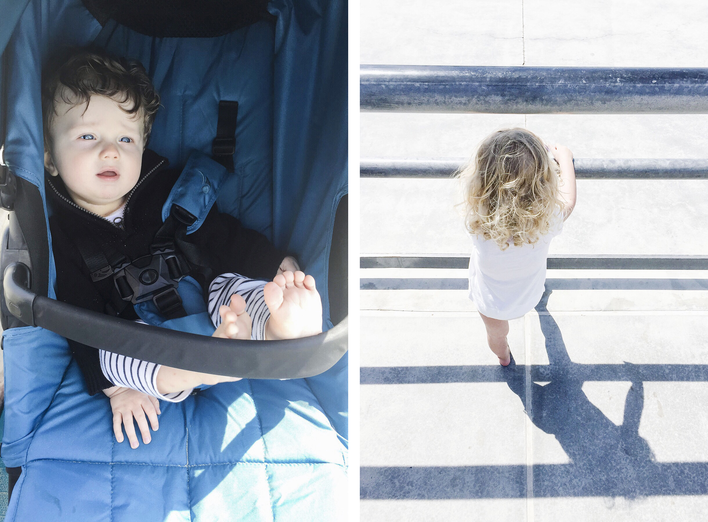 Venice Beach skate park, Los Angeles family travel with baby & toddler | Happy Grey Lucky