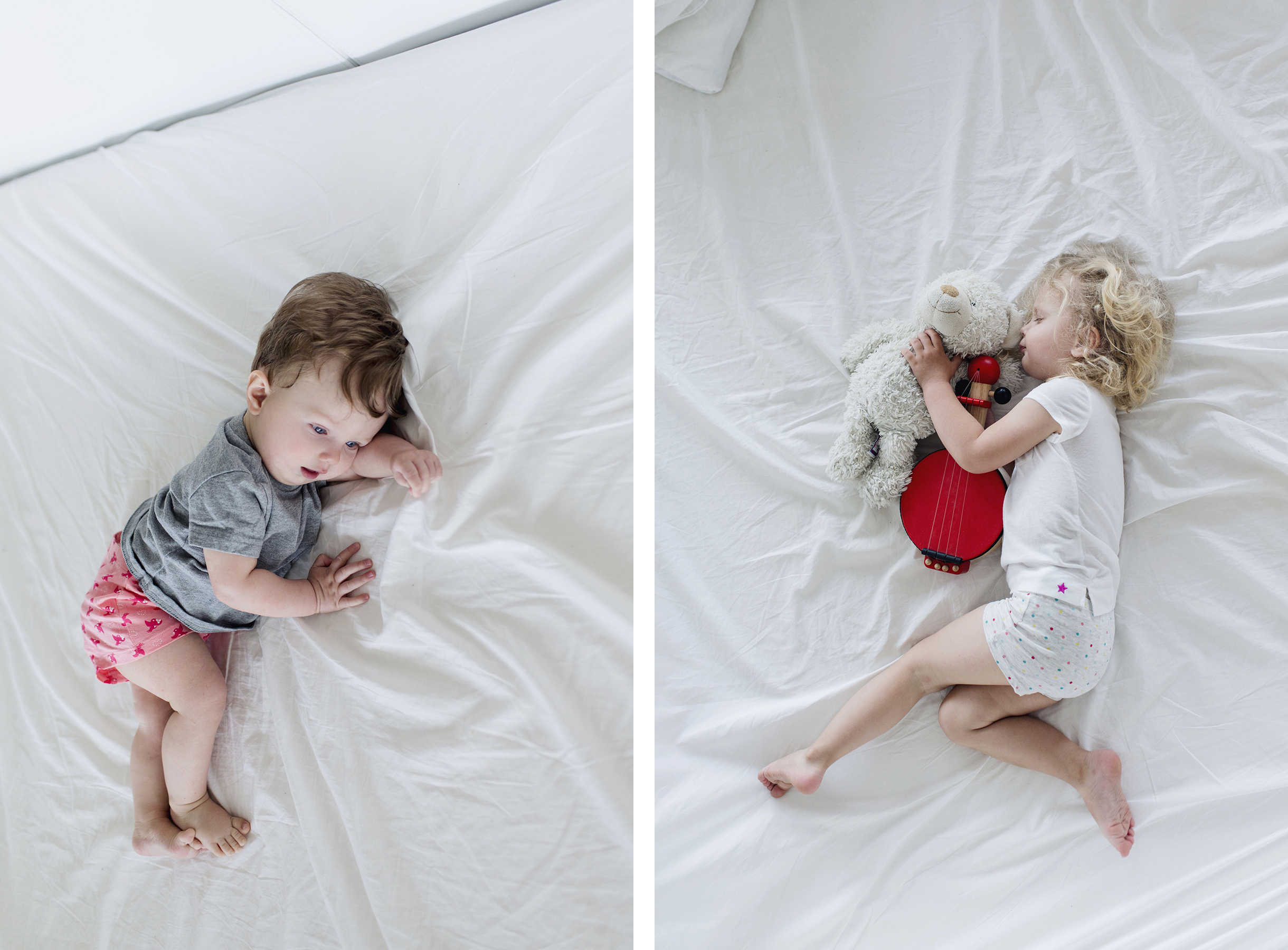 Co-sleeping with two young kids, solo travel with a baby & toddler | Happy Grey Lucky