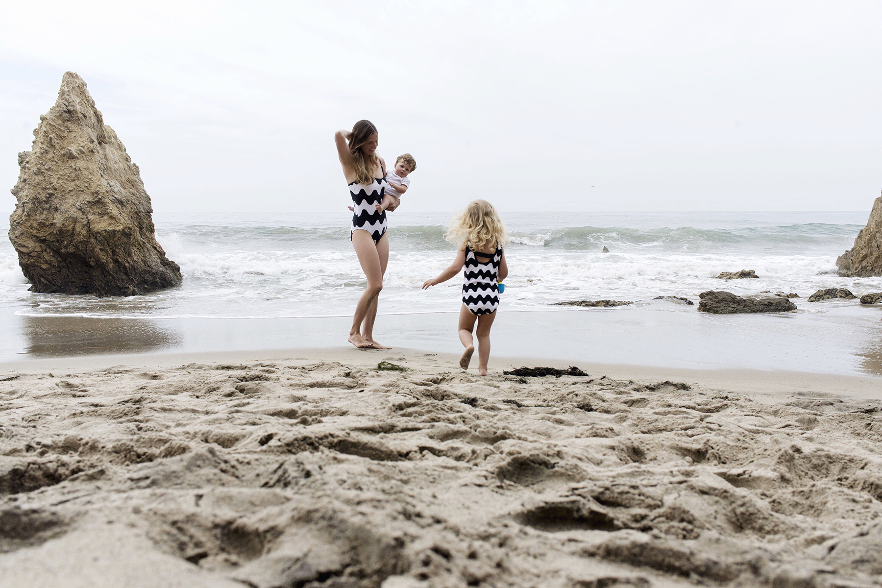 Marimekko for Target matching swimsuits for mother & daughter | Happy Grey Lucky