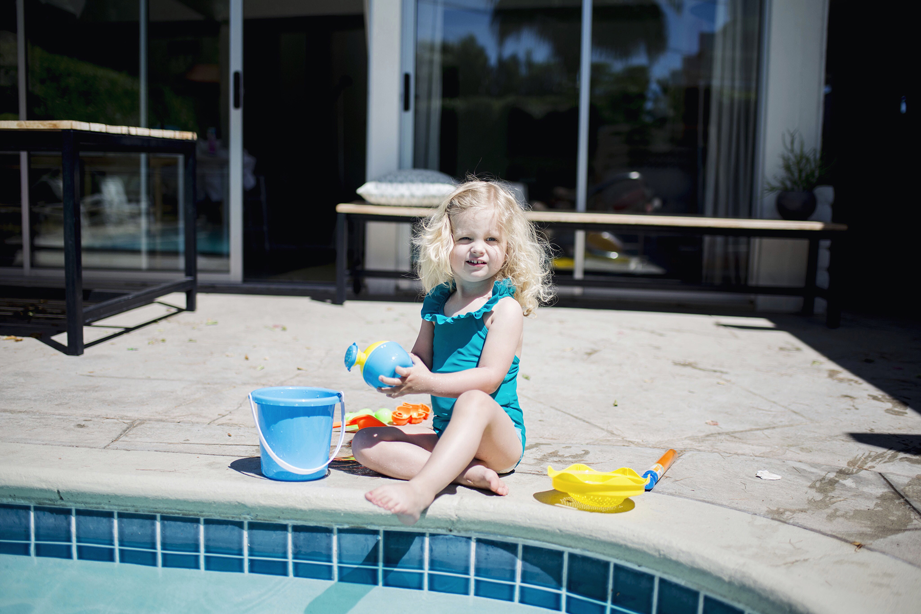 The Amado Palm Springs, California family travel with baby & toddler | Happy Grey Lucky