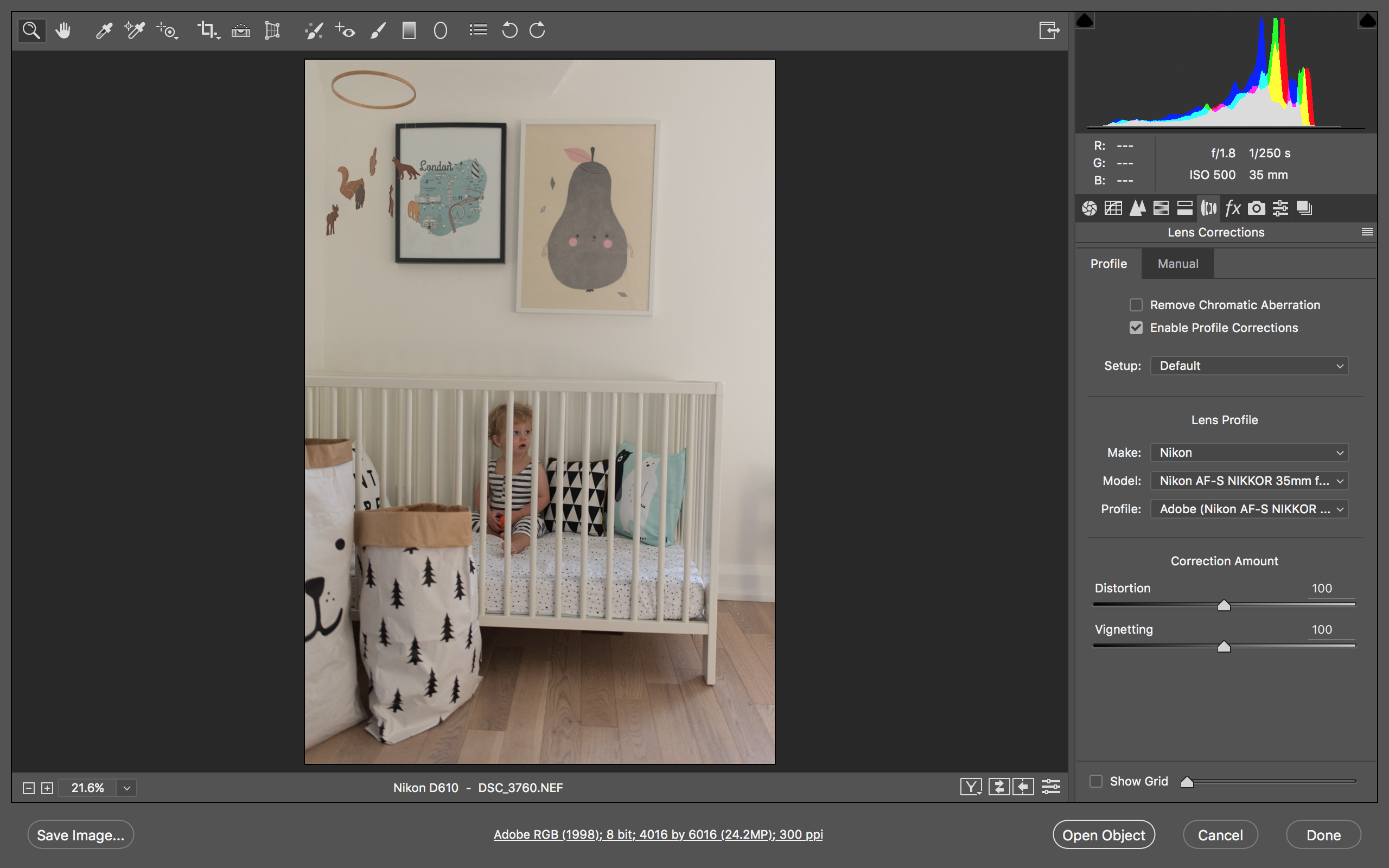 Quick and easy photo editing in Photoshop Raw
