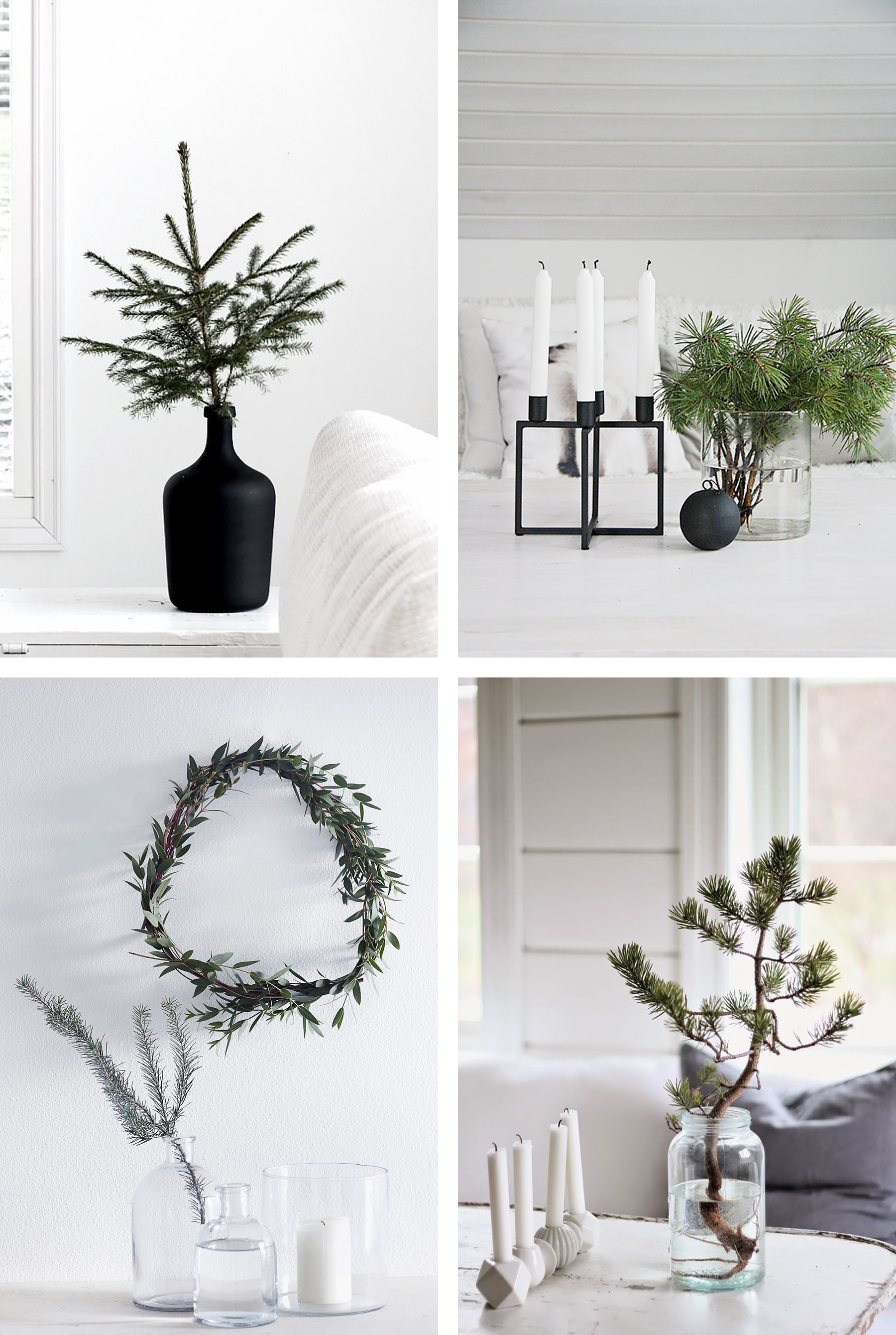 Scandinavian Christmas.How To Get That Scandinavian Christmas Look Happy Grey Lucky
