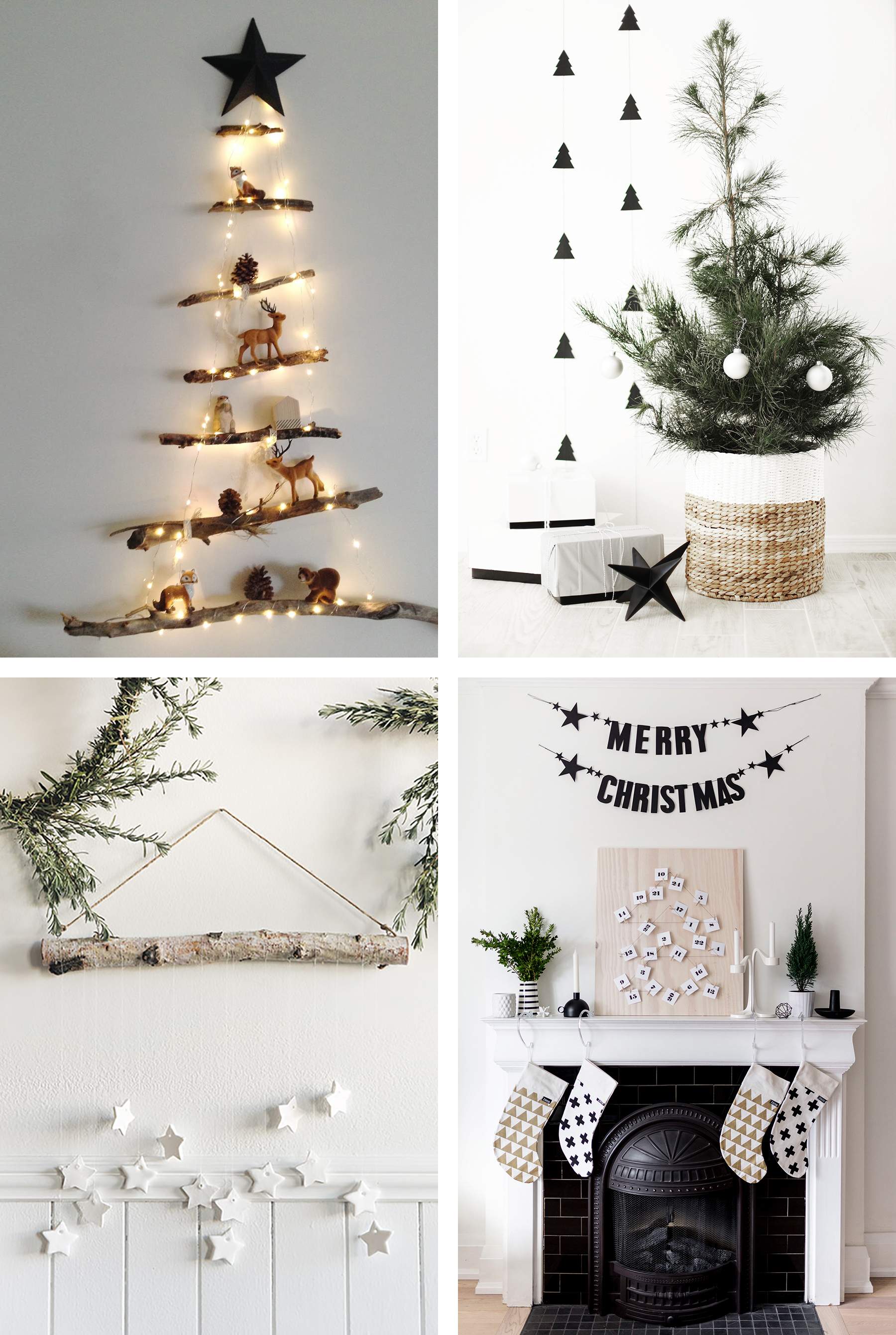 scandinavian christmas inspiration how to get that perfect nordic look happy grey lucky - Wooden Christmas Decorations To Make