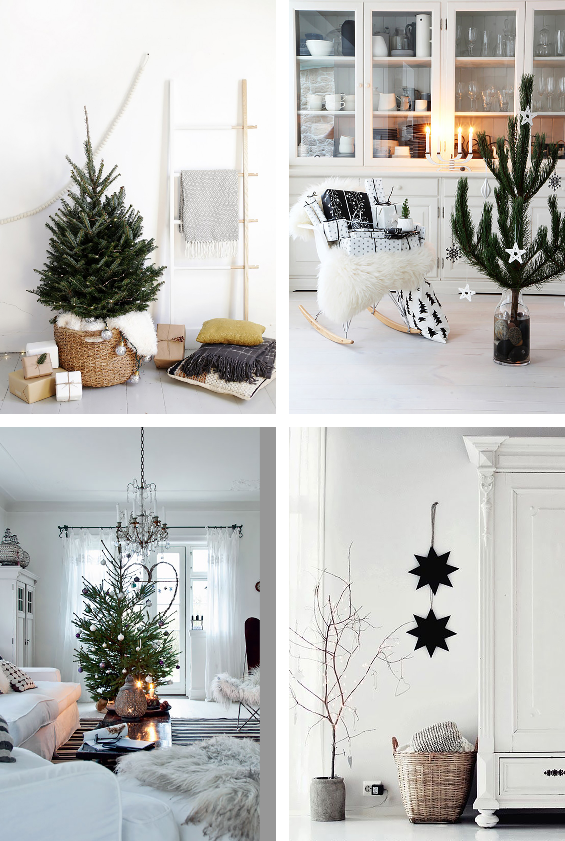 scandinavian christmas inspiration how to get that perfect nordic look happy grey lucky - Nordic Style Christmas Decorations