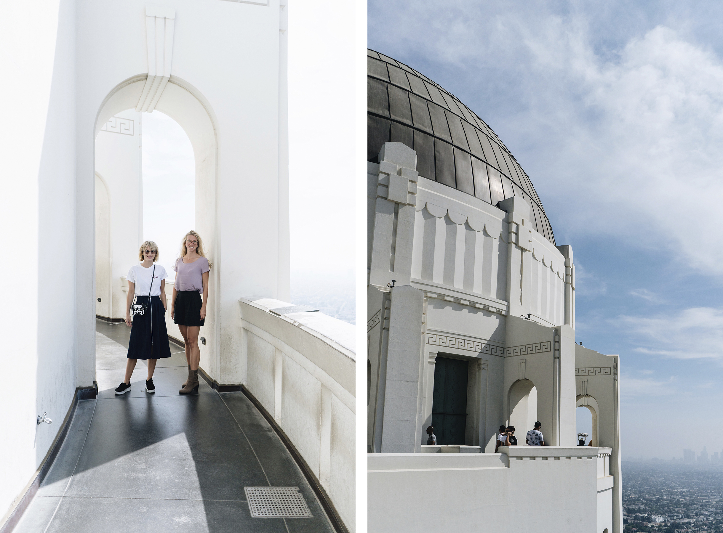 Griffith Observatory, Los Angeles | Sisters Trip to California | Happy Grey Lucky
