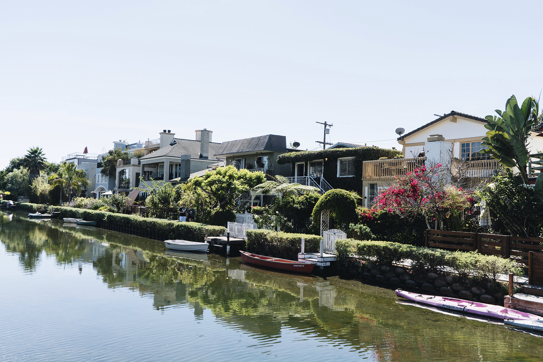Los Angeles Venice Canals Walkway | Sisters Trip to California | Happy Grey Lucky