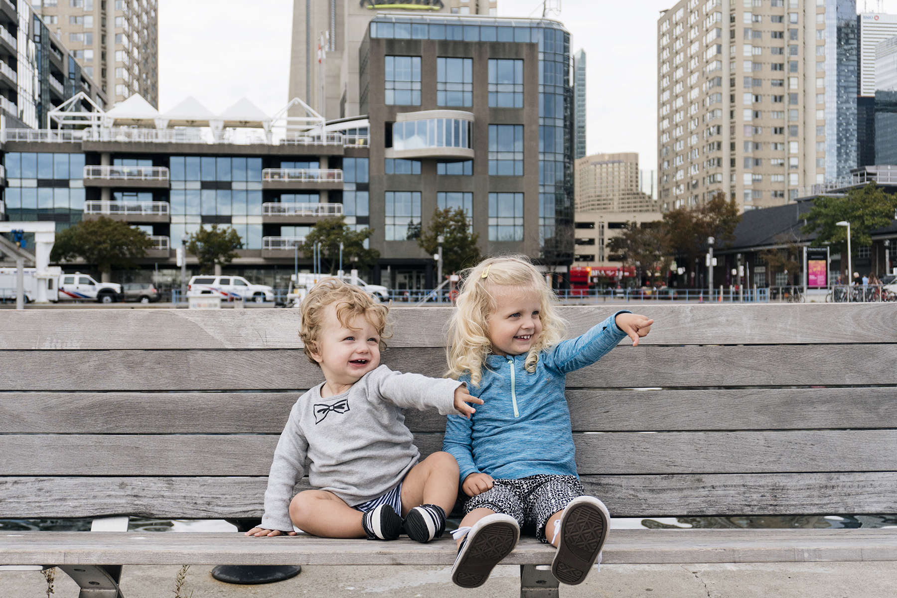 Radisson Toronto Harbourfront with young kids | Happy Grey Lucky