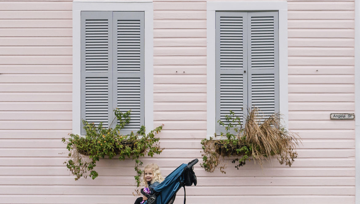Pink house in Key West, Florida - Florida Keys with young kids   Happy Grey Lucky
