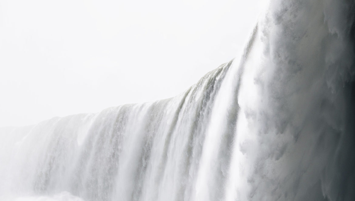 Journey behind the falls - top 10 things to do in Niagara Falls with young kids   Happy Grey Lucky