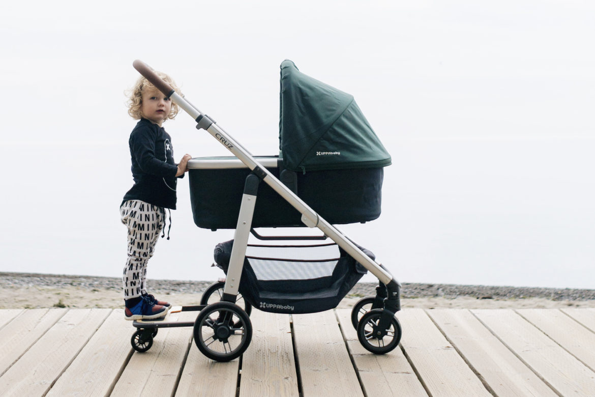 2017 Uppababy Cruz with bassinet hunter green | how to pick the perfect stroller