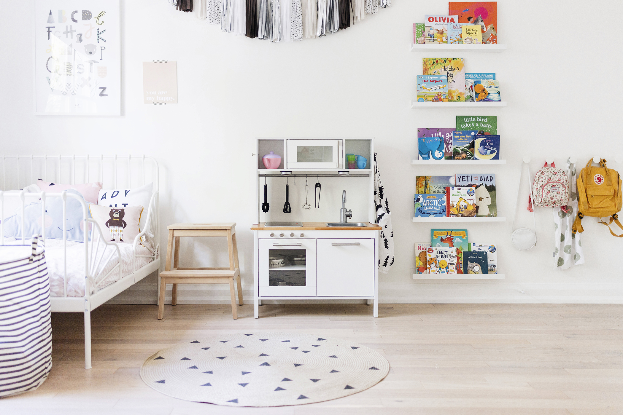 Ikea Hack A Scandinavian Inspired Play Kitchen Happy