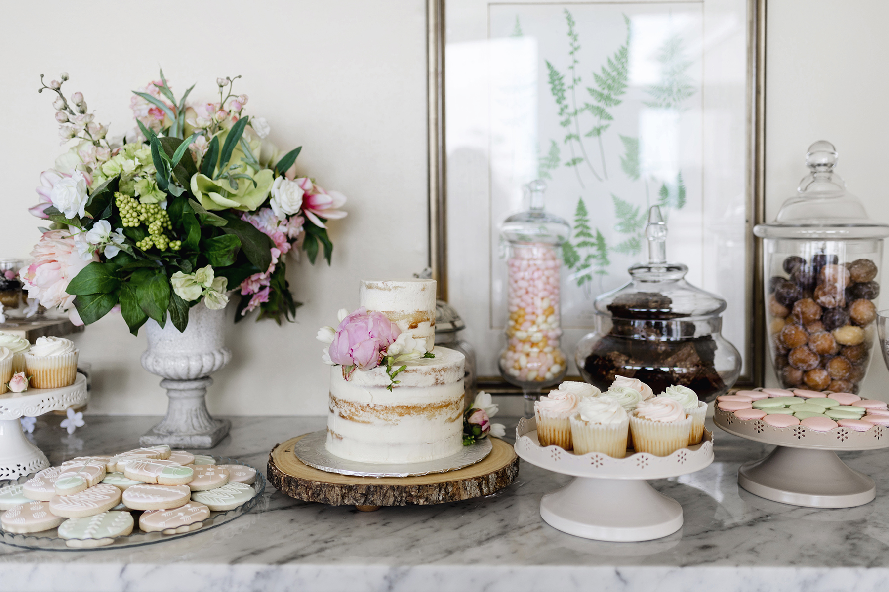 ... Dessert Table | A Wild + Boho Baby Shower With Pastel Colours + Rustic  Details ...