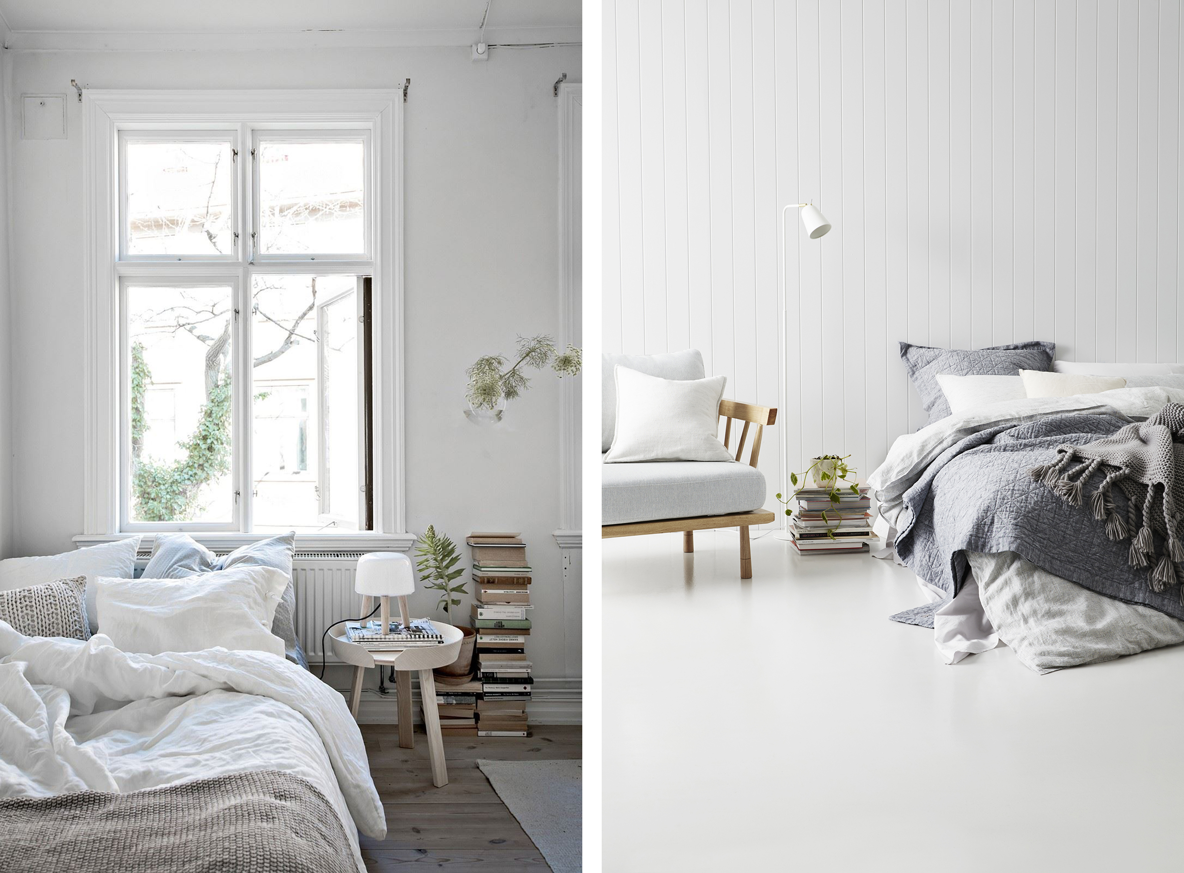 10 Tips for Creating a More Serene Bedroom | Happy Grey Lucky