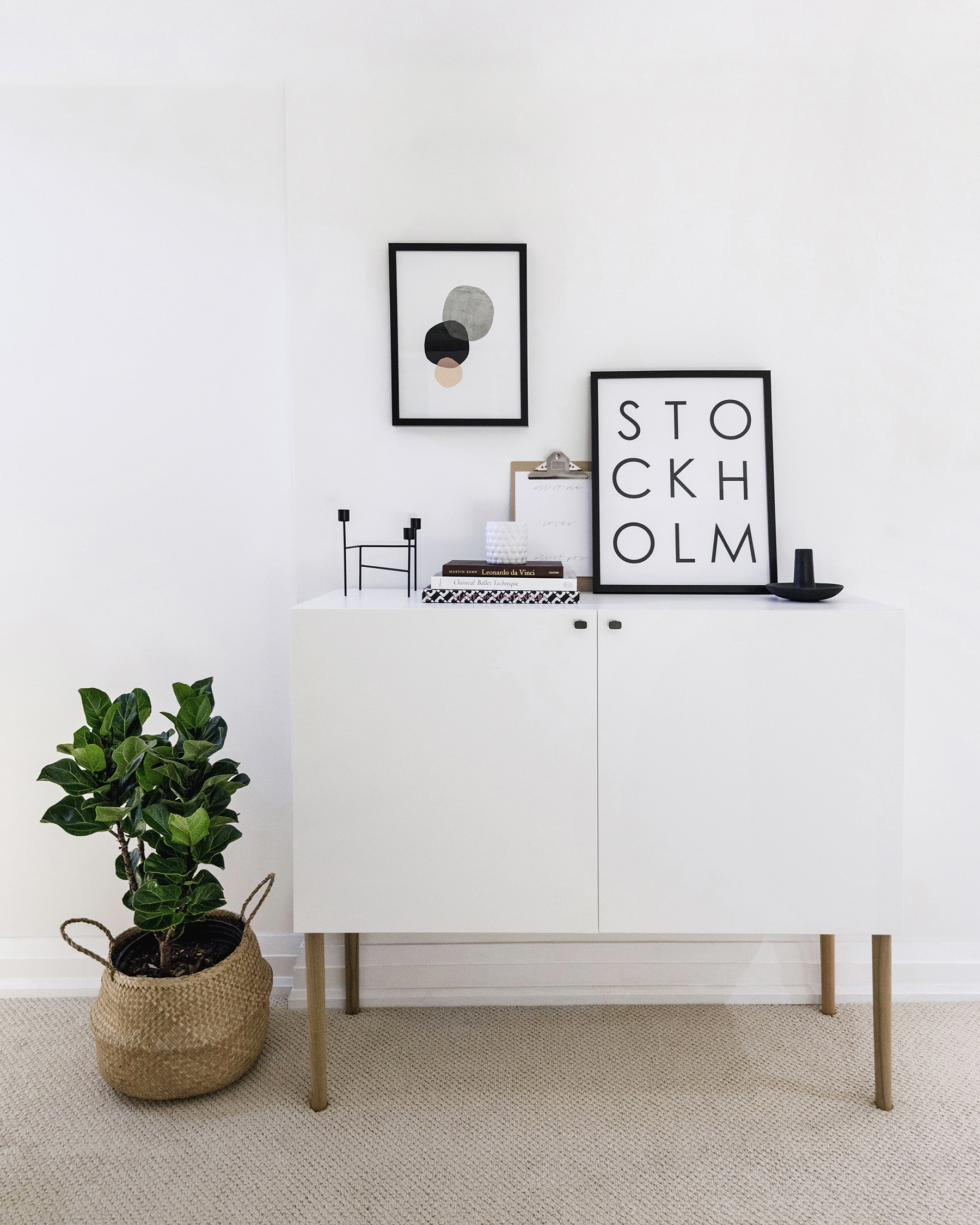 Ikea besta hack scandinavian sideboard cabinet happy for Tutorial ikea home planner