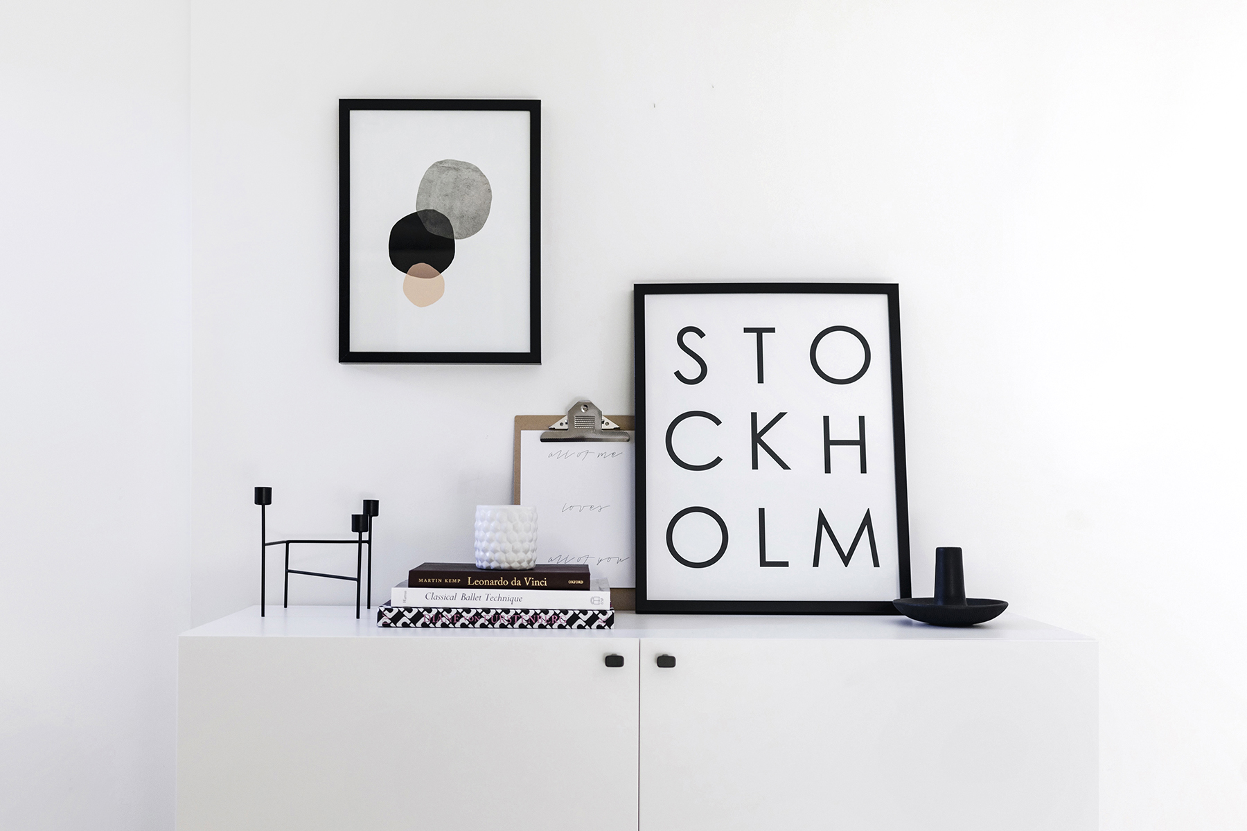 ... Ikea Besta Hack   Scandinavian Sideboard Cabinet | Tutorial By Happy  Grey Lucky