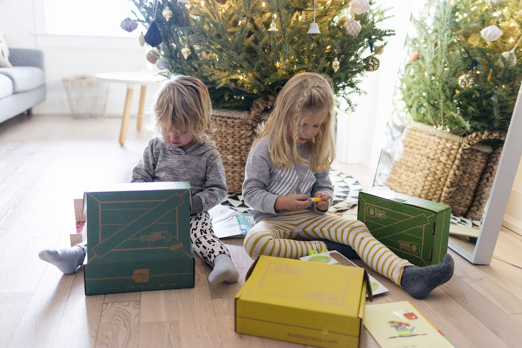 KiwiCo crates for hands on learning and experienced-based play | Happy Grey Lucky