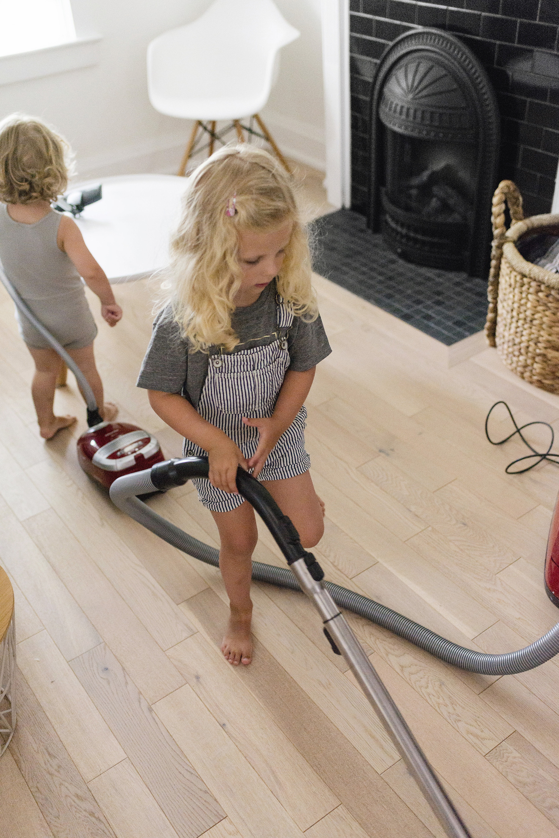 Secrets to cleaning with young kids at home | Happy Grey Lucky