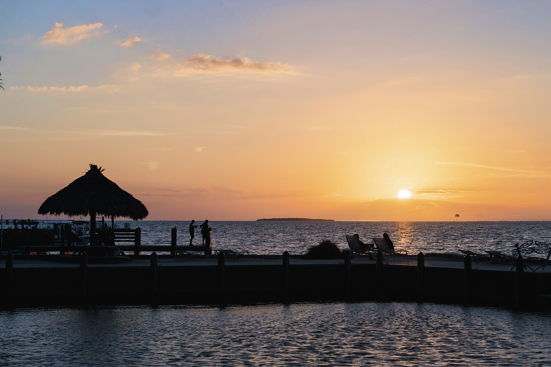 Florida Keys sunset in Key Largo - Five Things | Happy Grey Lucky