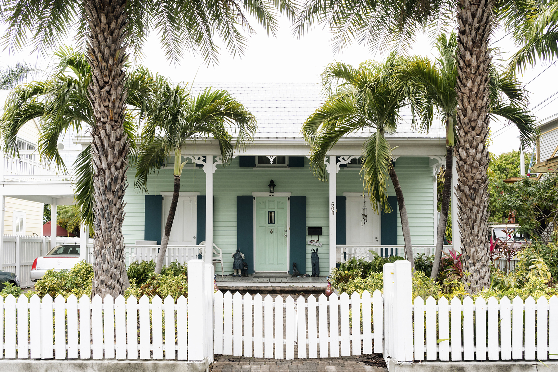 Key West pastel house, Florida - Five Things | Happy Grey Lucky