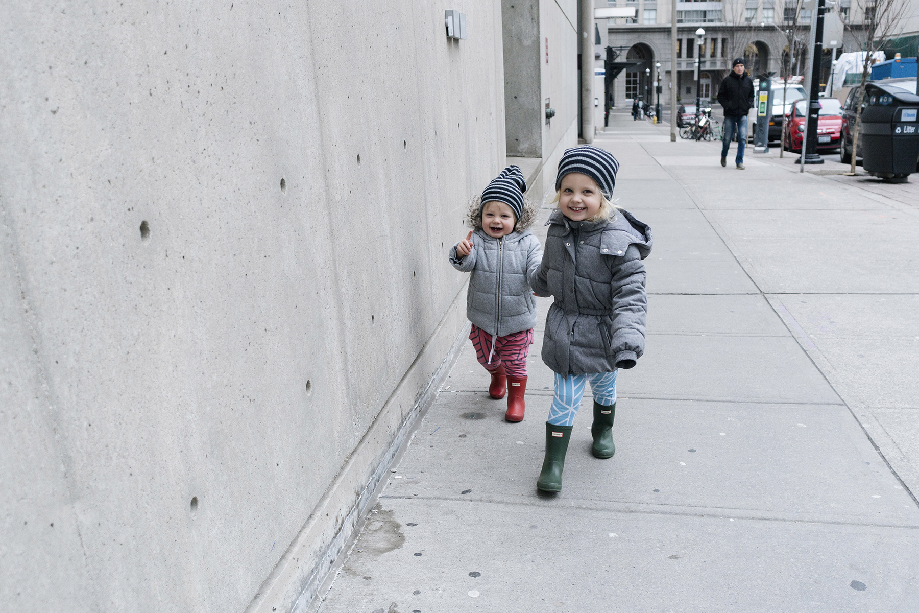 Siblings walking holding hands - Five Things | Happy Grey Lucky