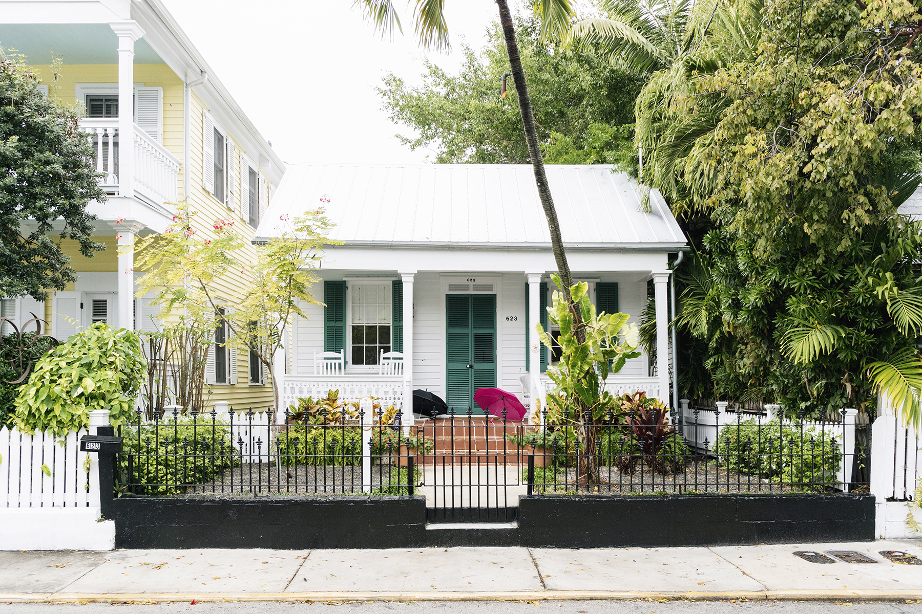 Key West colonial architecture - Florida Keys with young kids | Happy Grey Lucky