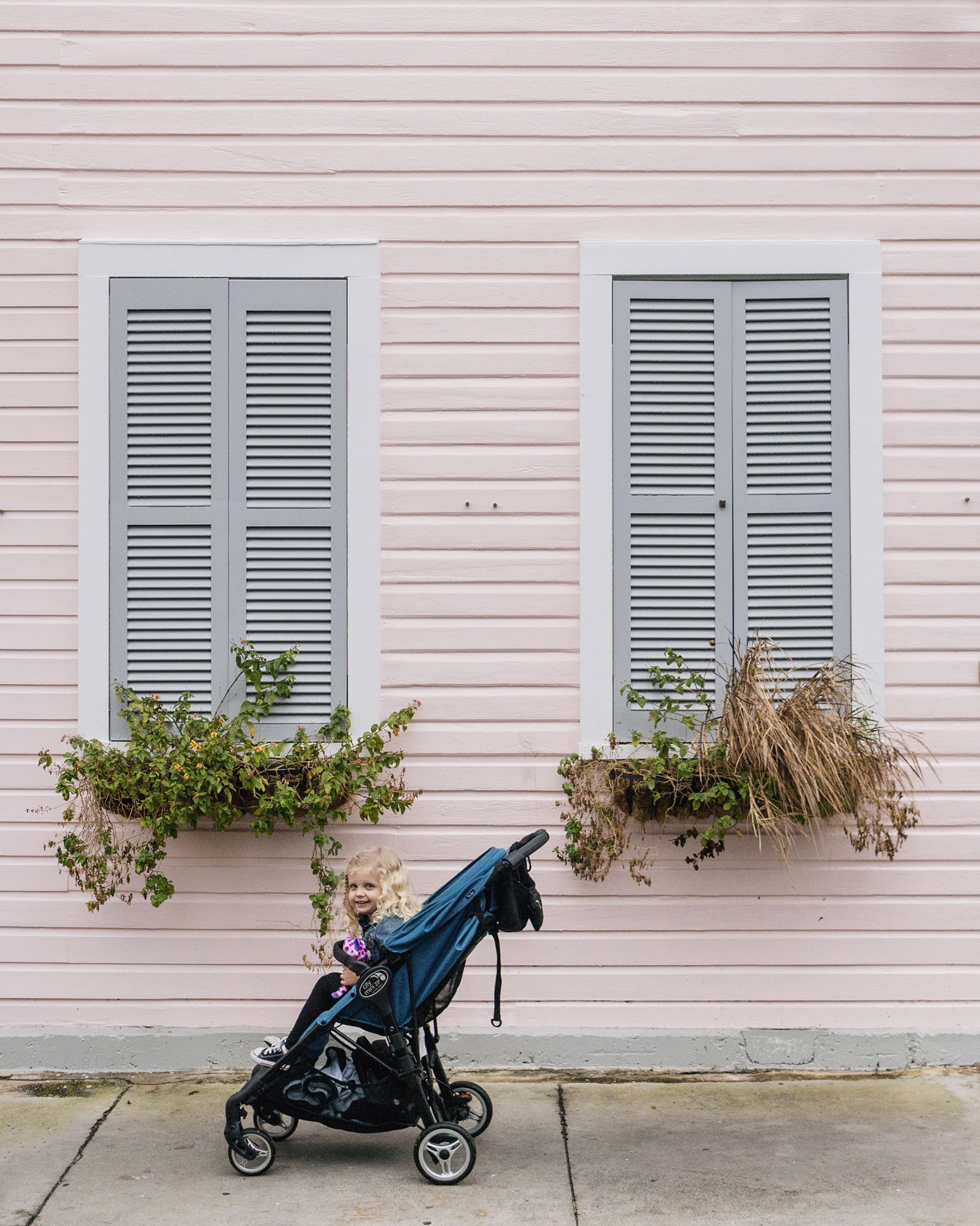 Pink house in Key West, Florida - Florida Keys with young kids | Happy Grey Lucky