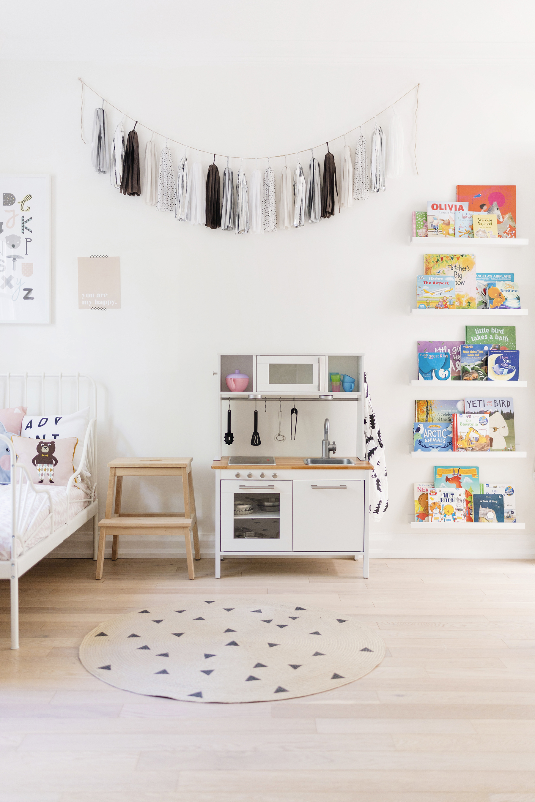 Ikea Hack A Scandinavian Inspired Play Kitchen Happy Grey Lucky