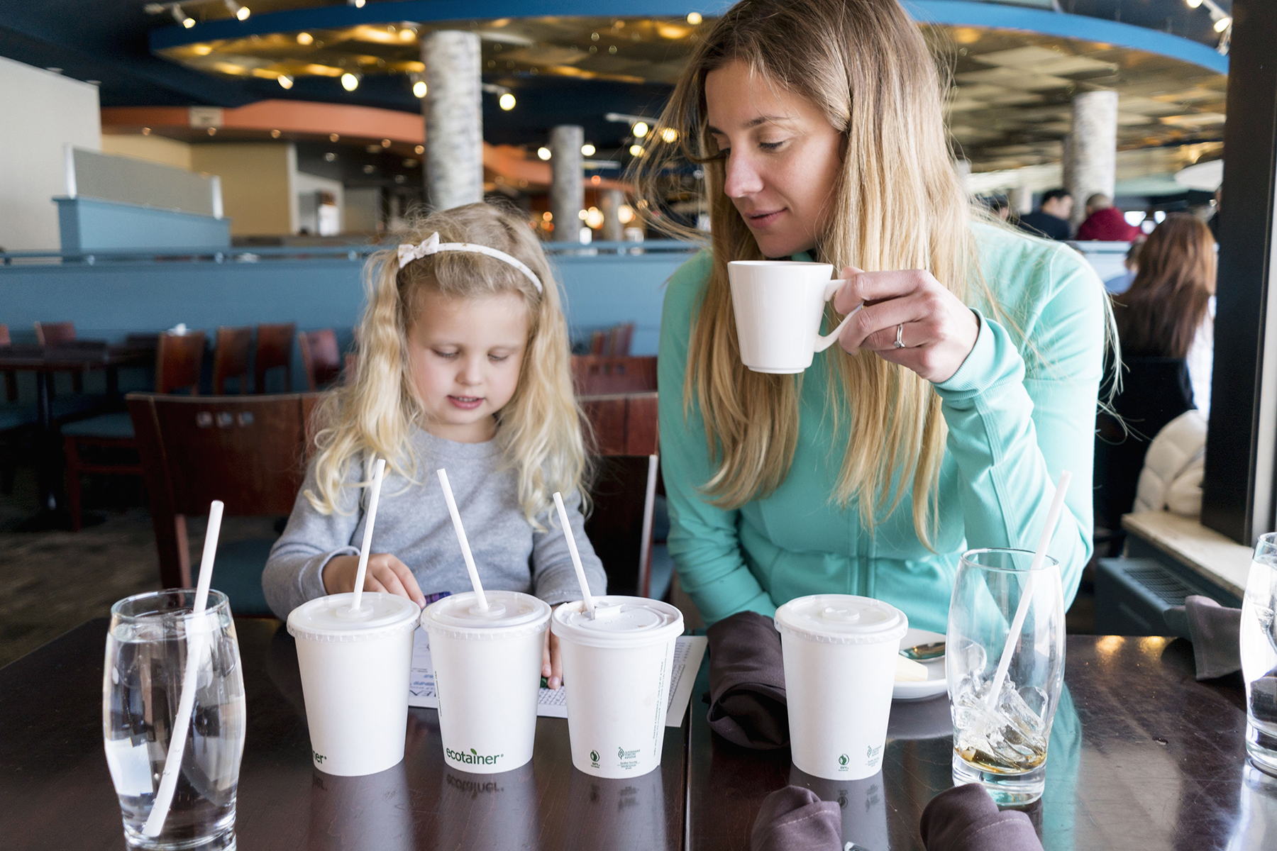 Elements of the Falls restaurant - Top 10 things to do in Niagara Falls with young kids | Happy Grey Lucky