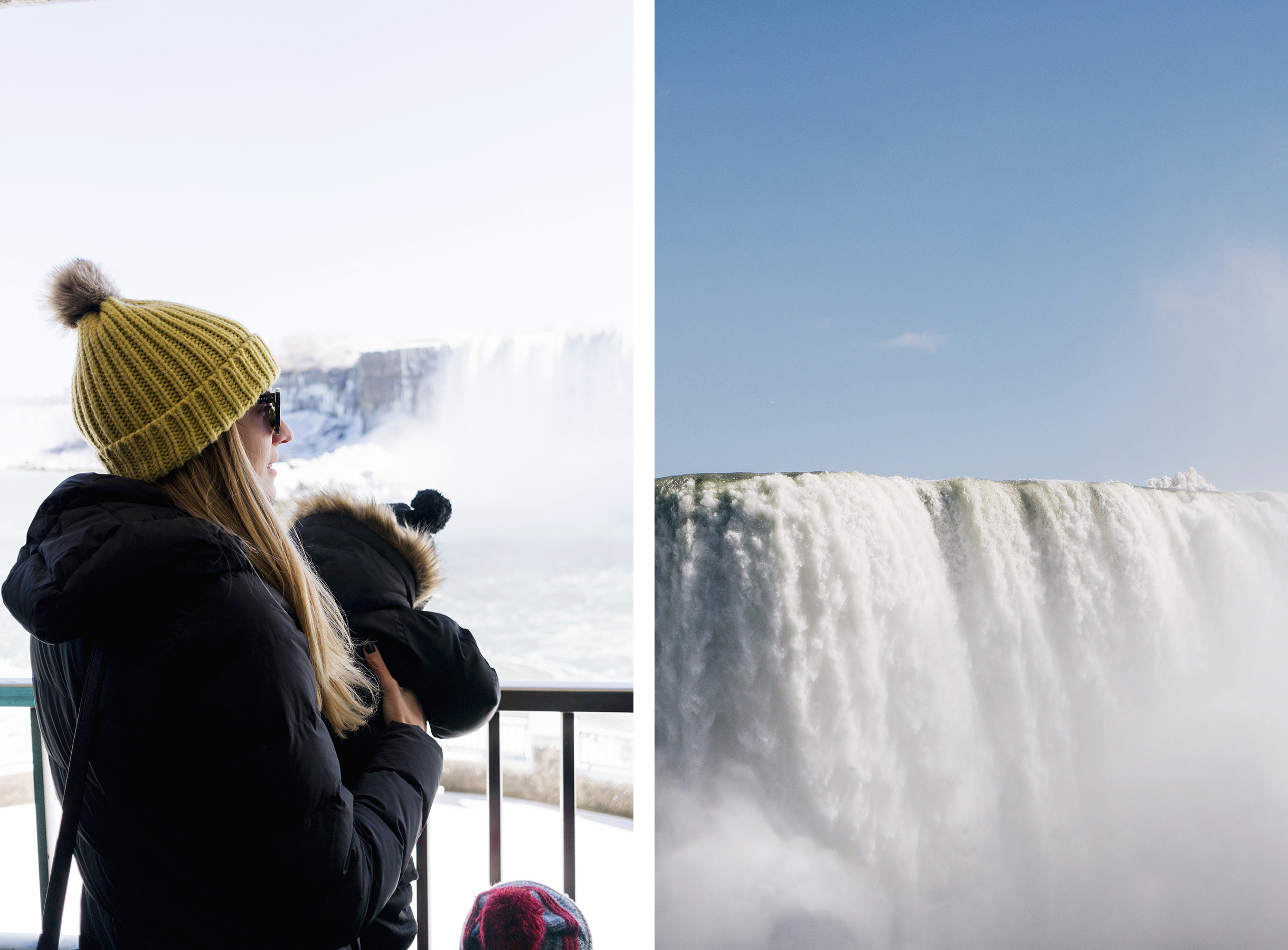 Journey behind the falls - top 10 things to do in Niagara Falls with young kids | Happy Grey Lucky