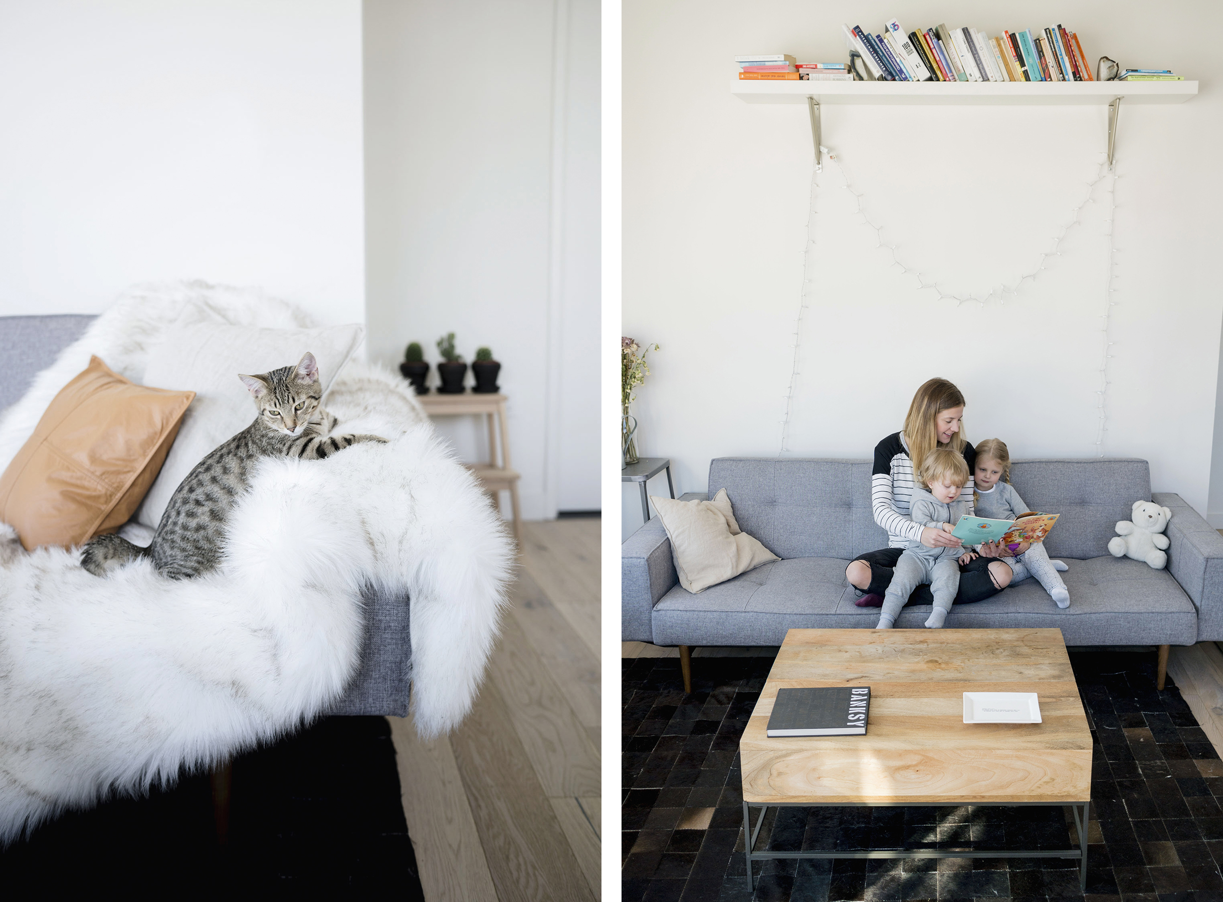 ... Scandinavian industrial interior in New York City | Happy Grey Lucky ... & A Scandinavian Industrial Interior in NYC | Happy Grey Lucky