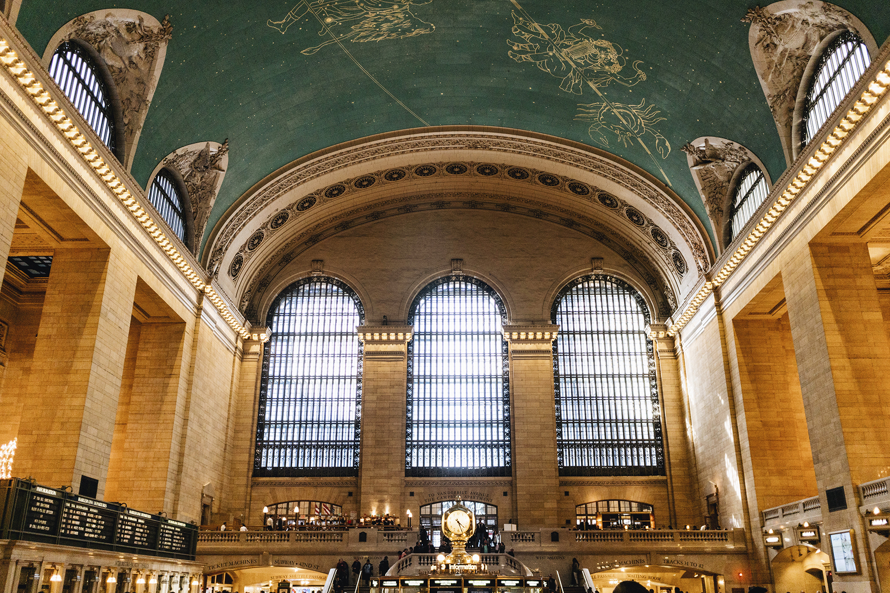 Grand Central station - Top 10 things to do in NYC with young kids | New York City travel guide