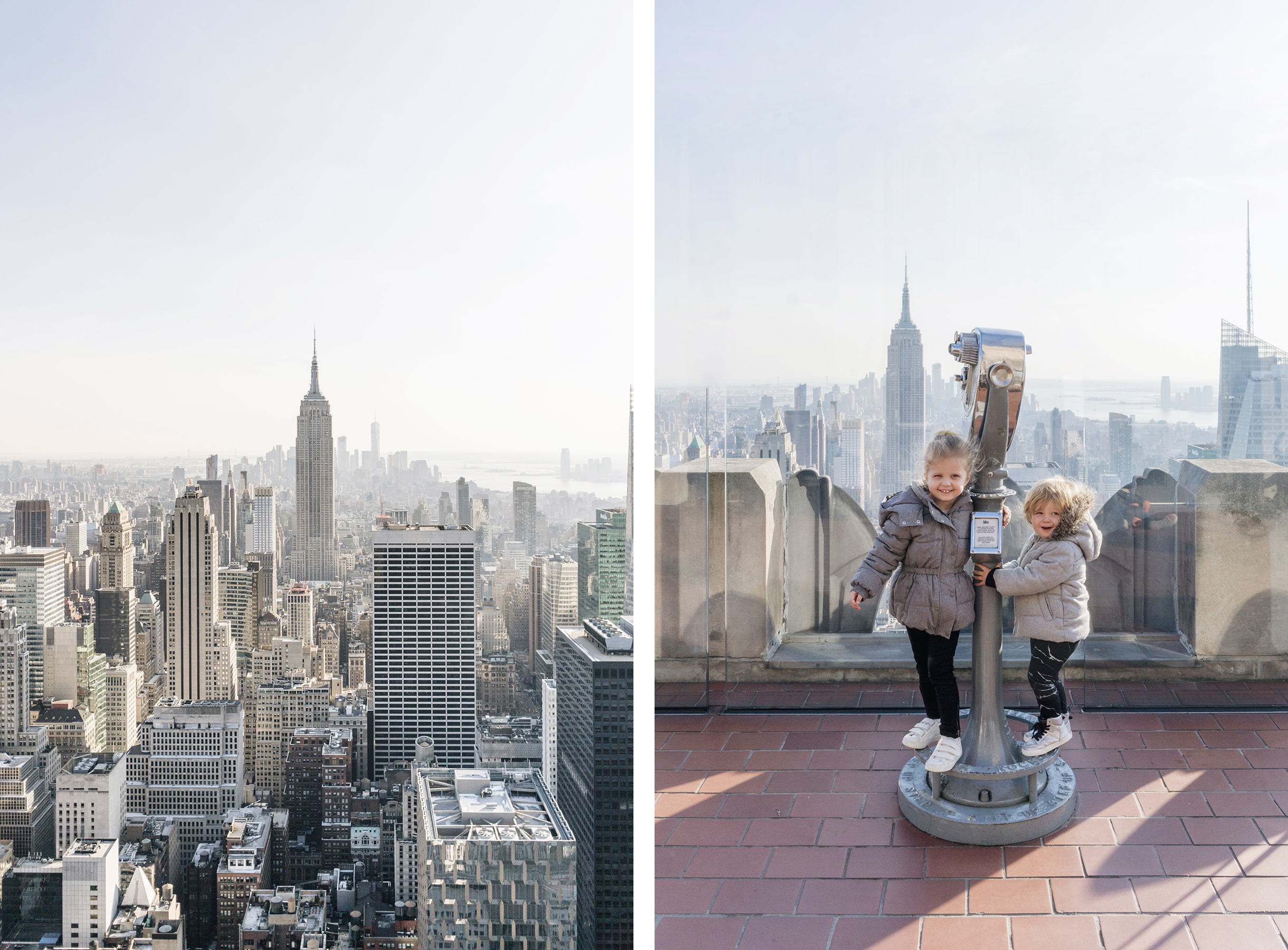 Top of the Rock - Top 10 things to do in NYC with young kids | New York City travel guide