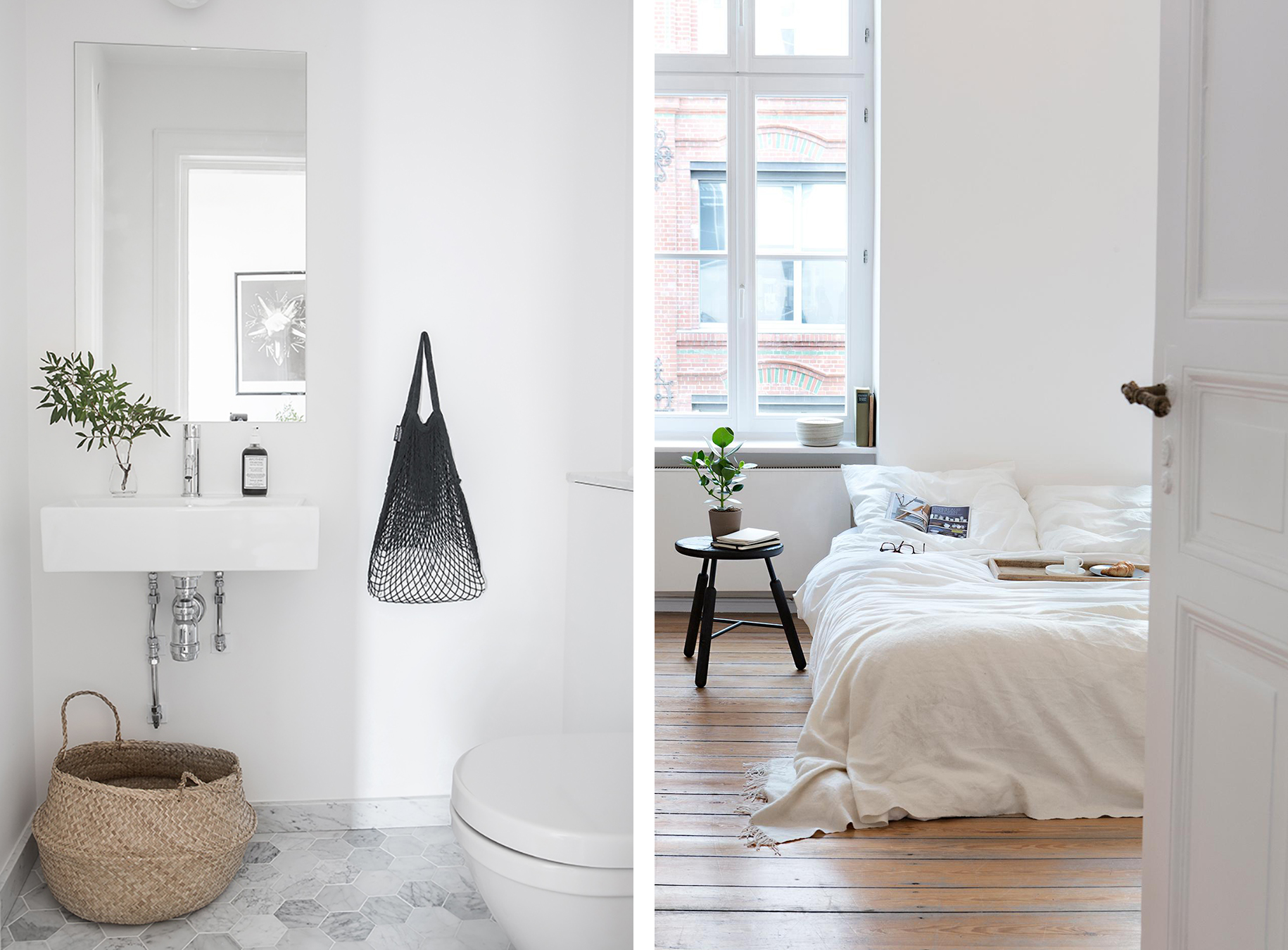 Minimalist Scandinavian interior - Top 10 tips for adding Scandinavian style to your home | Happy Grey Lucky