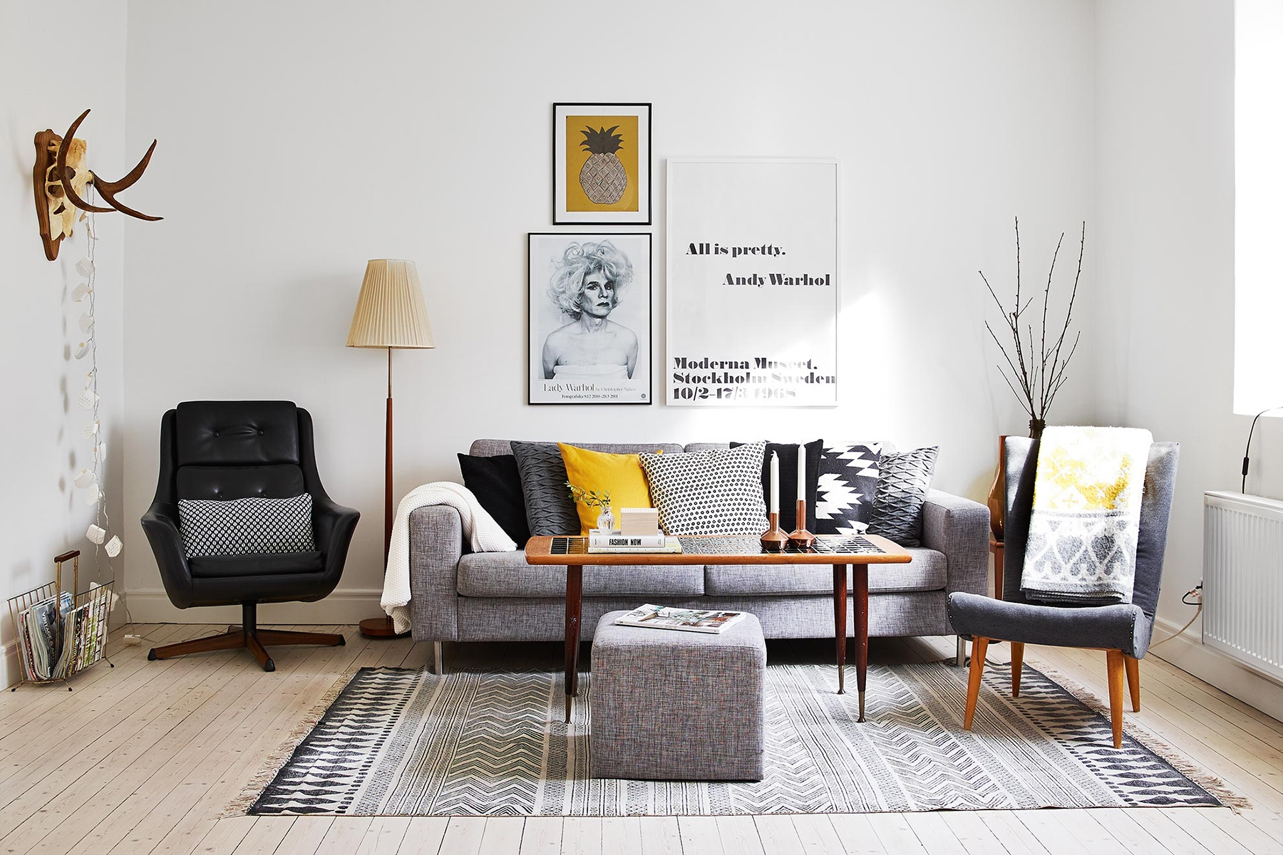 Scandinavian Style Sofas Rooms