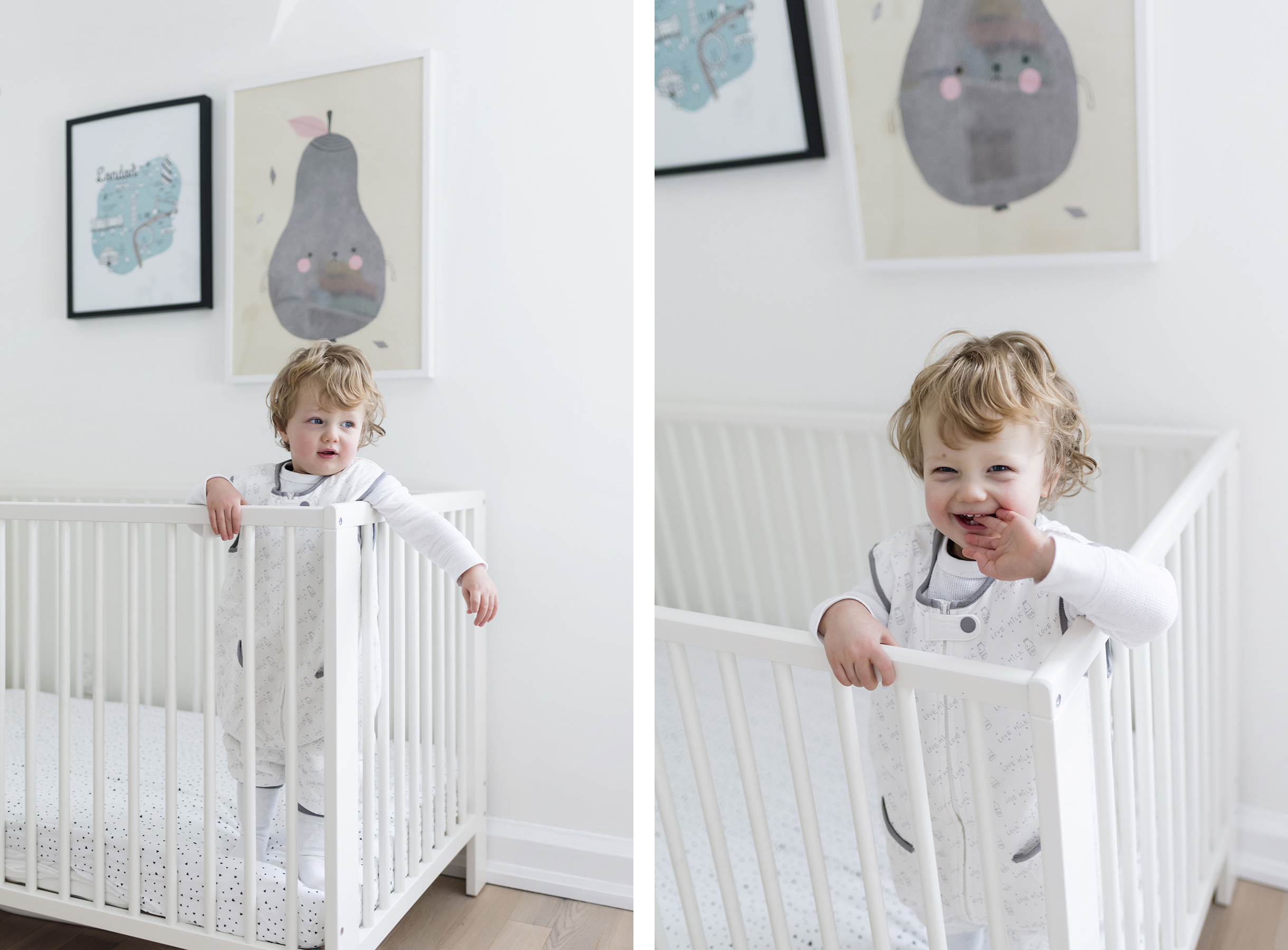 5 tips to help your baby sleep through the night | Happy Grey Lucky