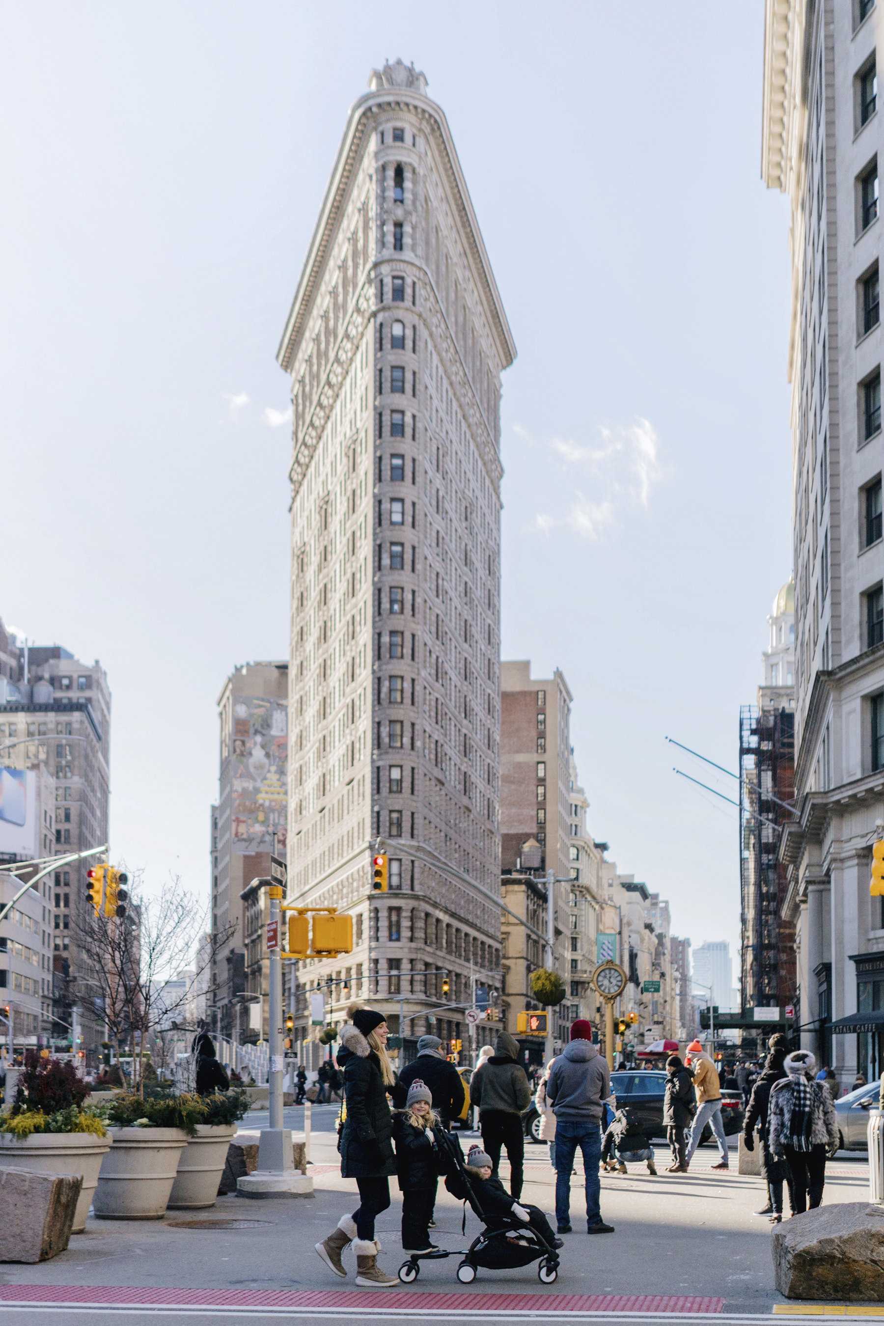 Flatiron building in New York City | Family Travel Tips