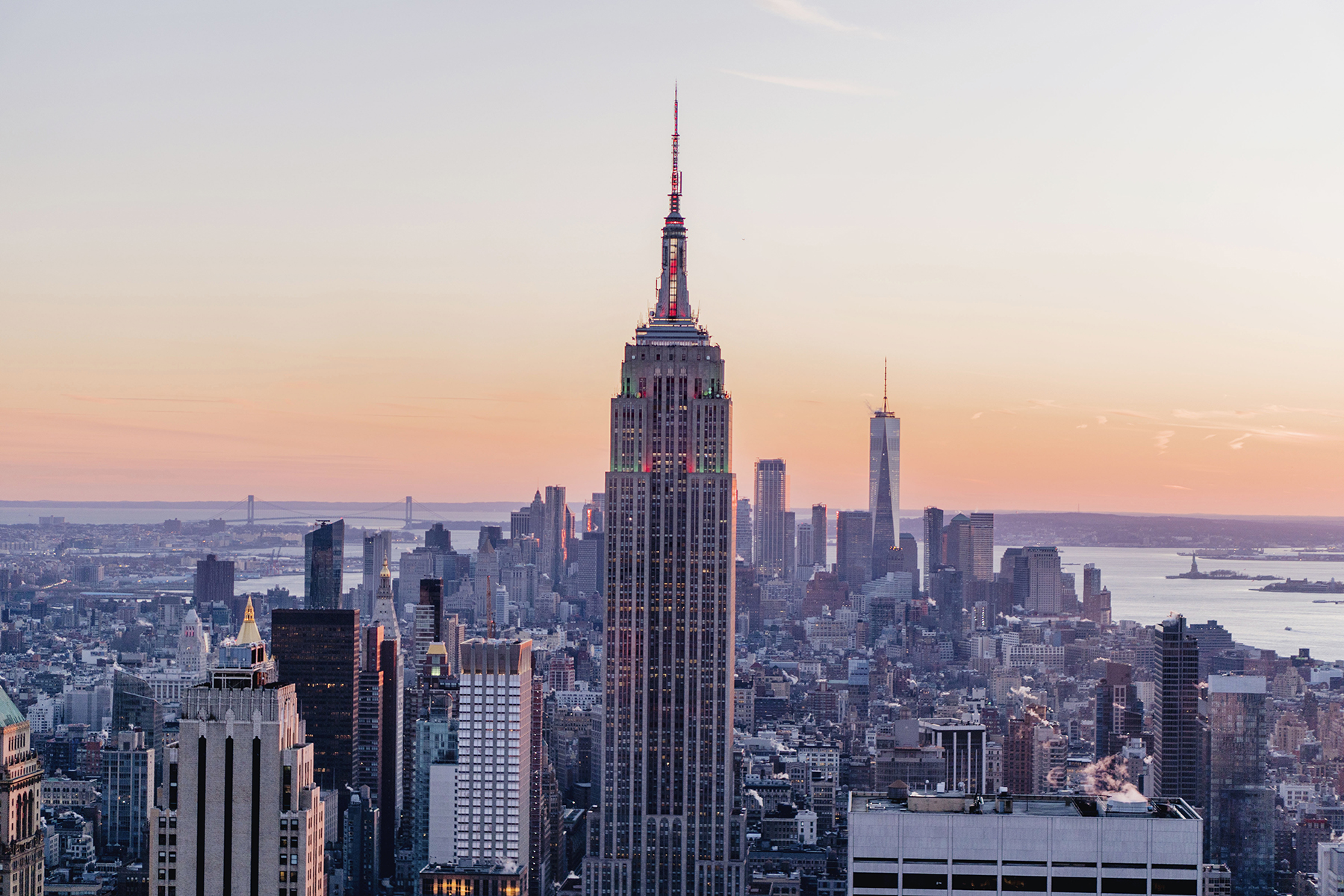 Top of the Rock view at Sunset | Family Travel Tips