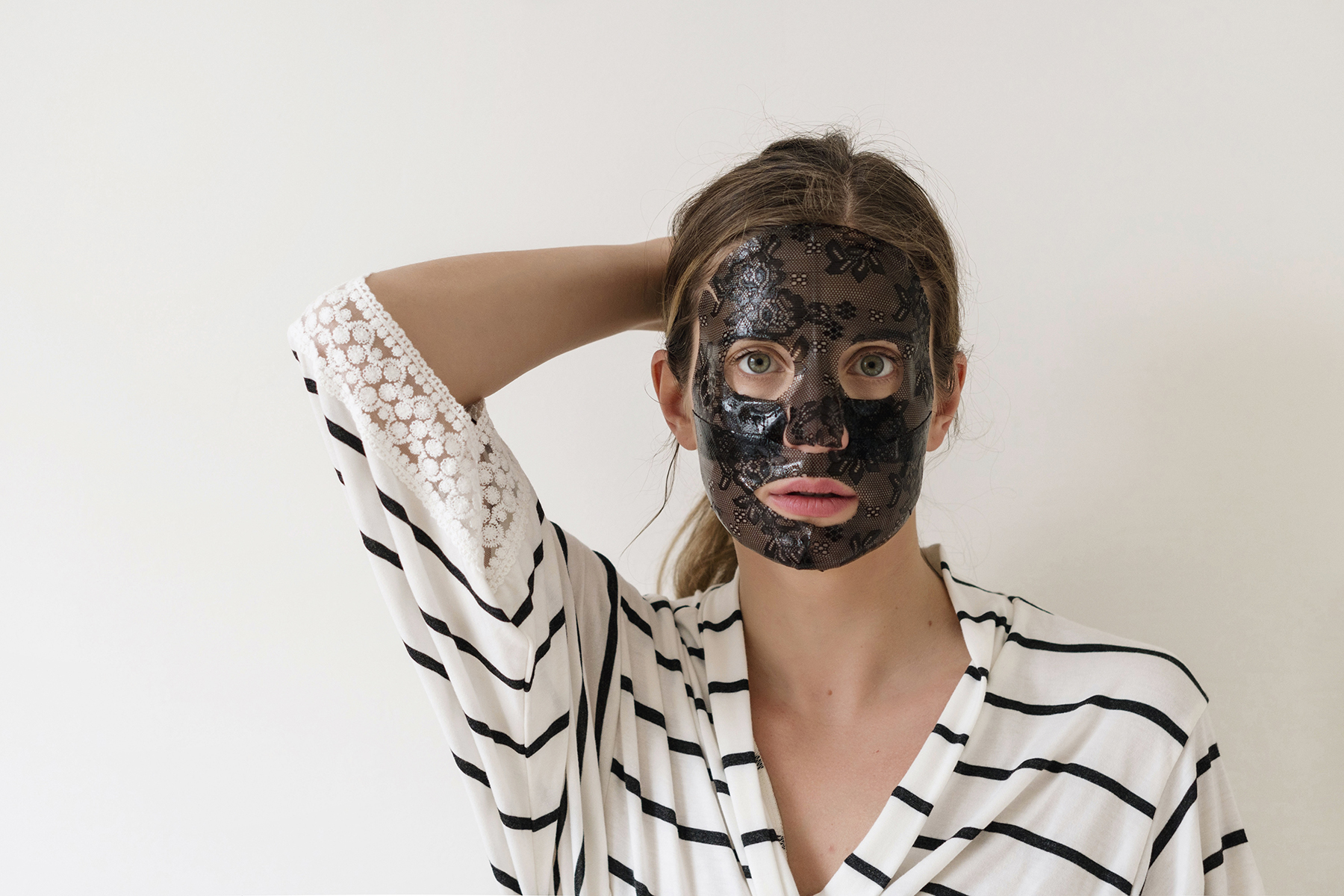 How taking care of yourself makes you a better mom   Trefiel anti-aging lace sheet mask review